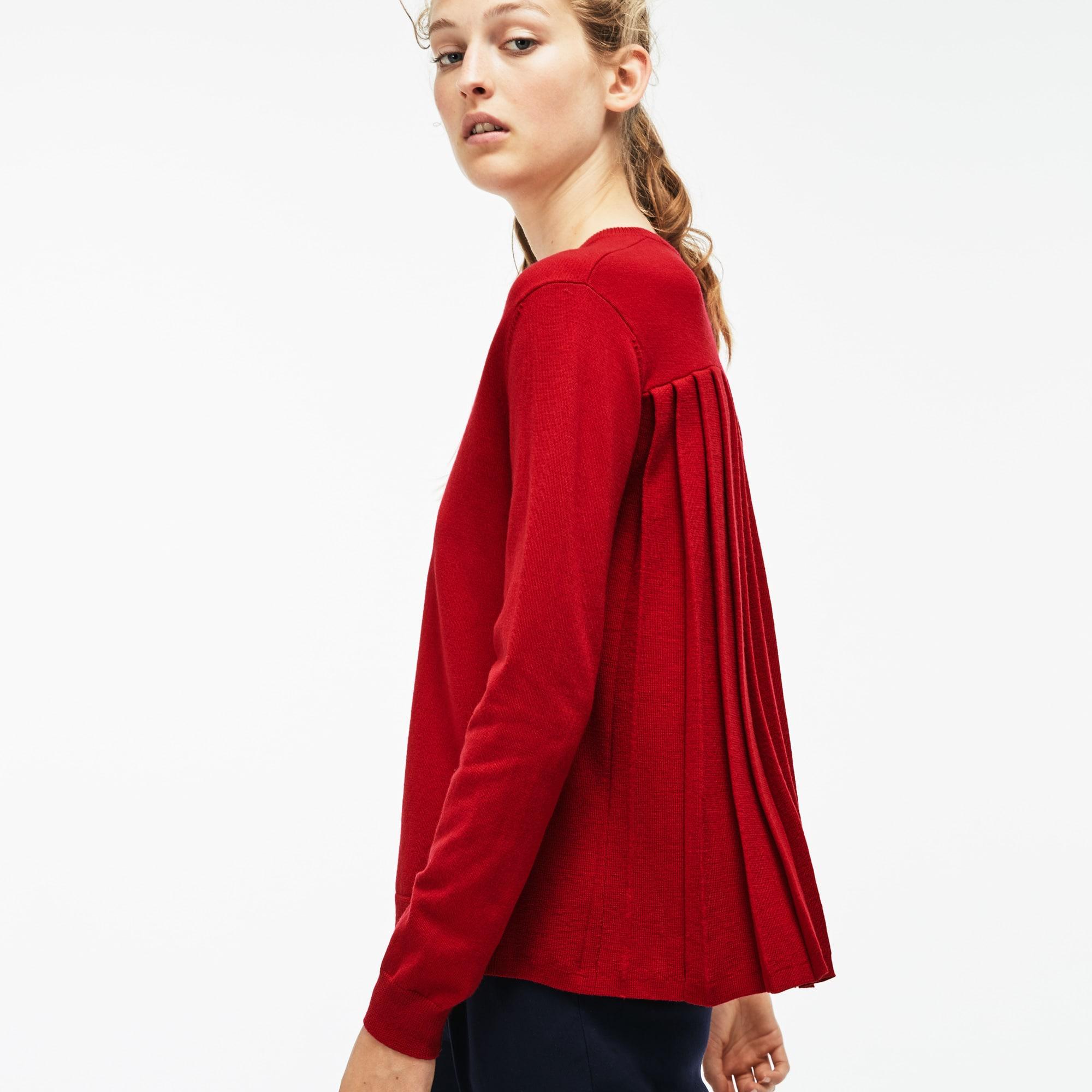 女士纯色长袖毛衫