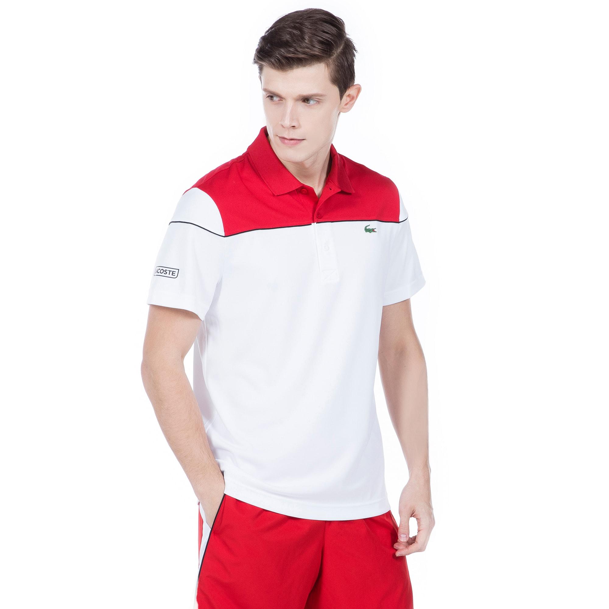 (남성) 스포츠 [Novak Djokovic Collection] 배색 기능성 피케 폴로