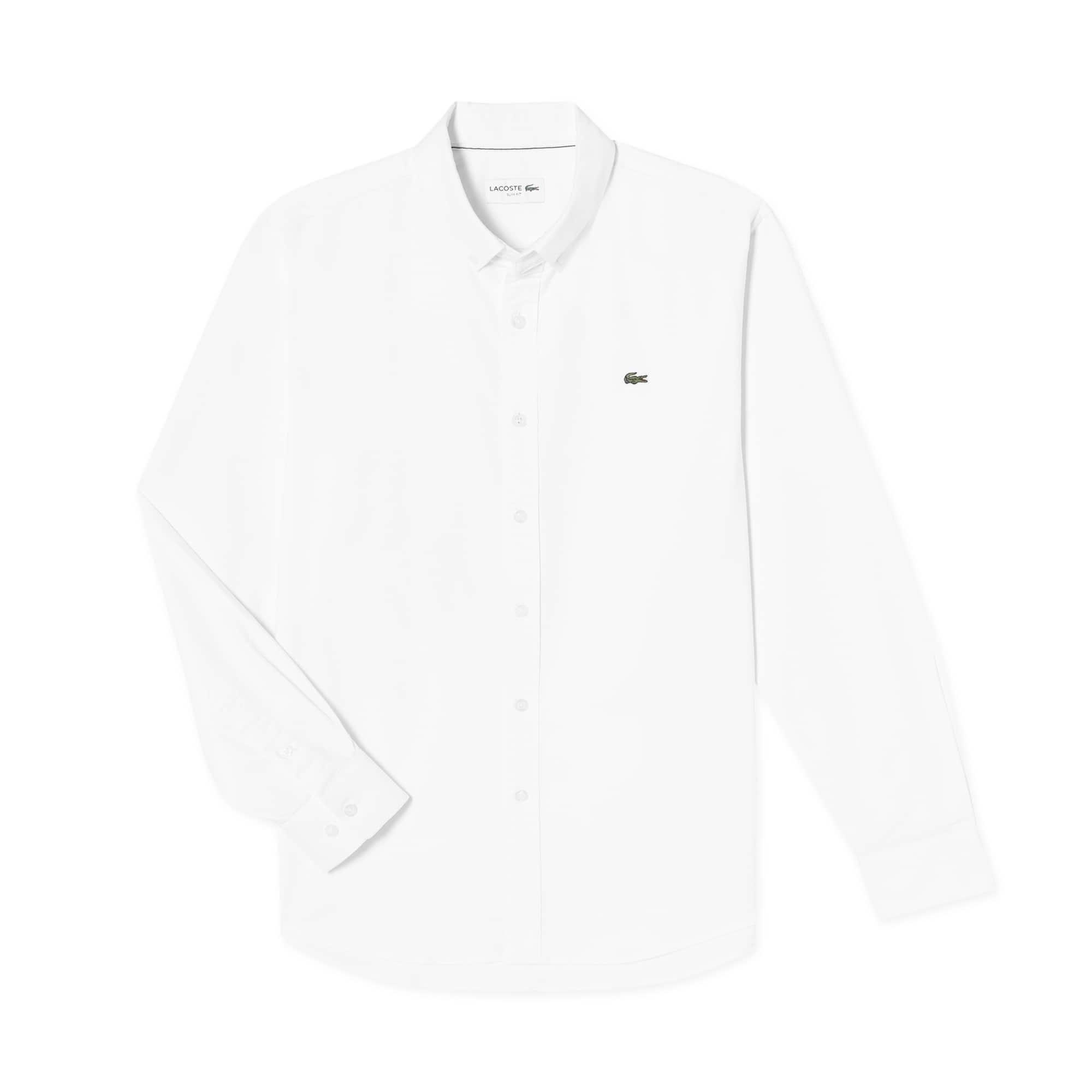 (남성) 라코스테 스트레치 옥스포드 슬림 셔츠