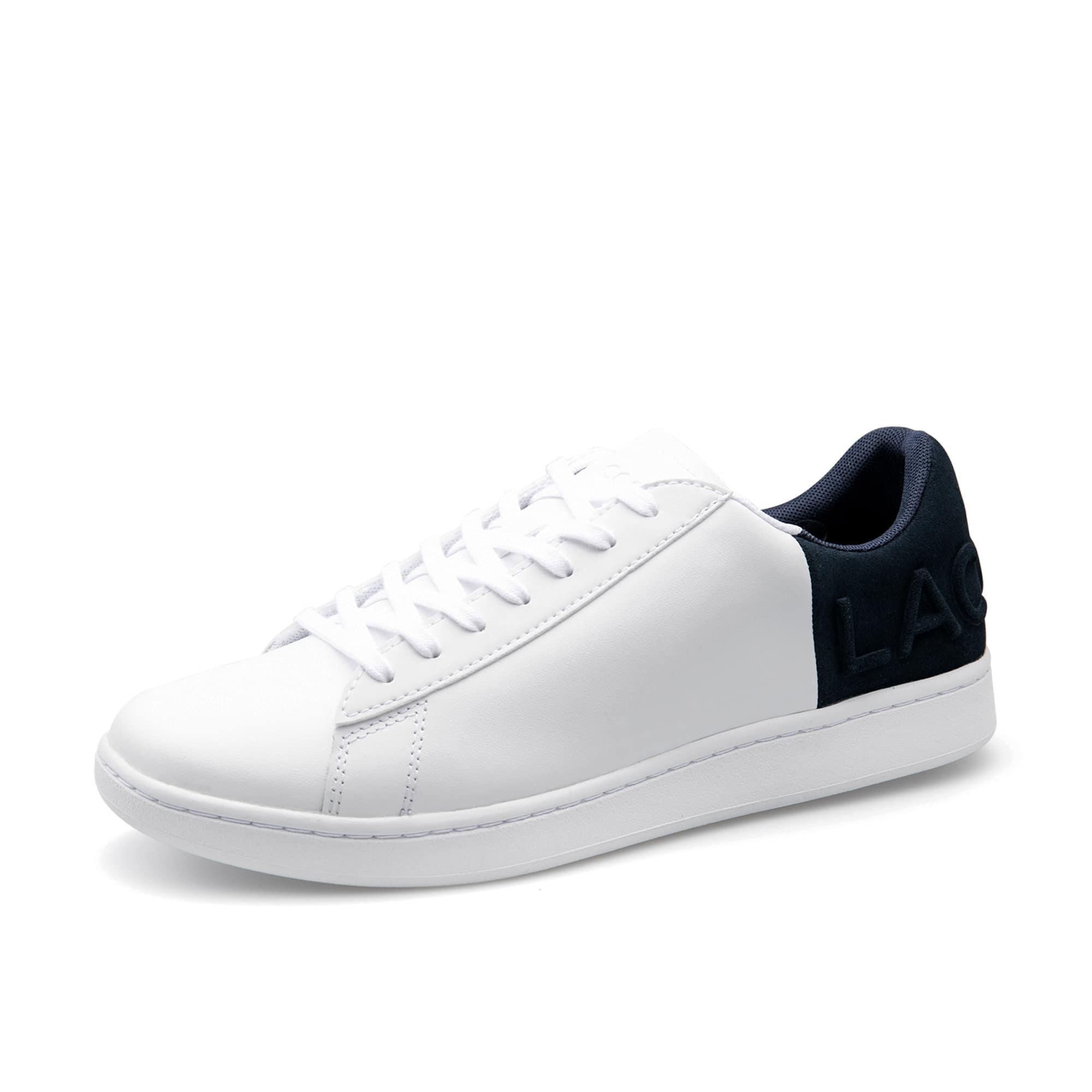 男士Carnaby Evo 系列皮革和绒面运动鞋