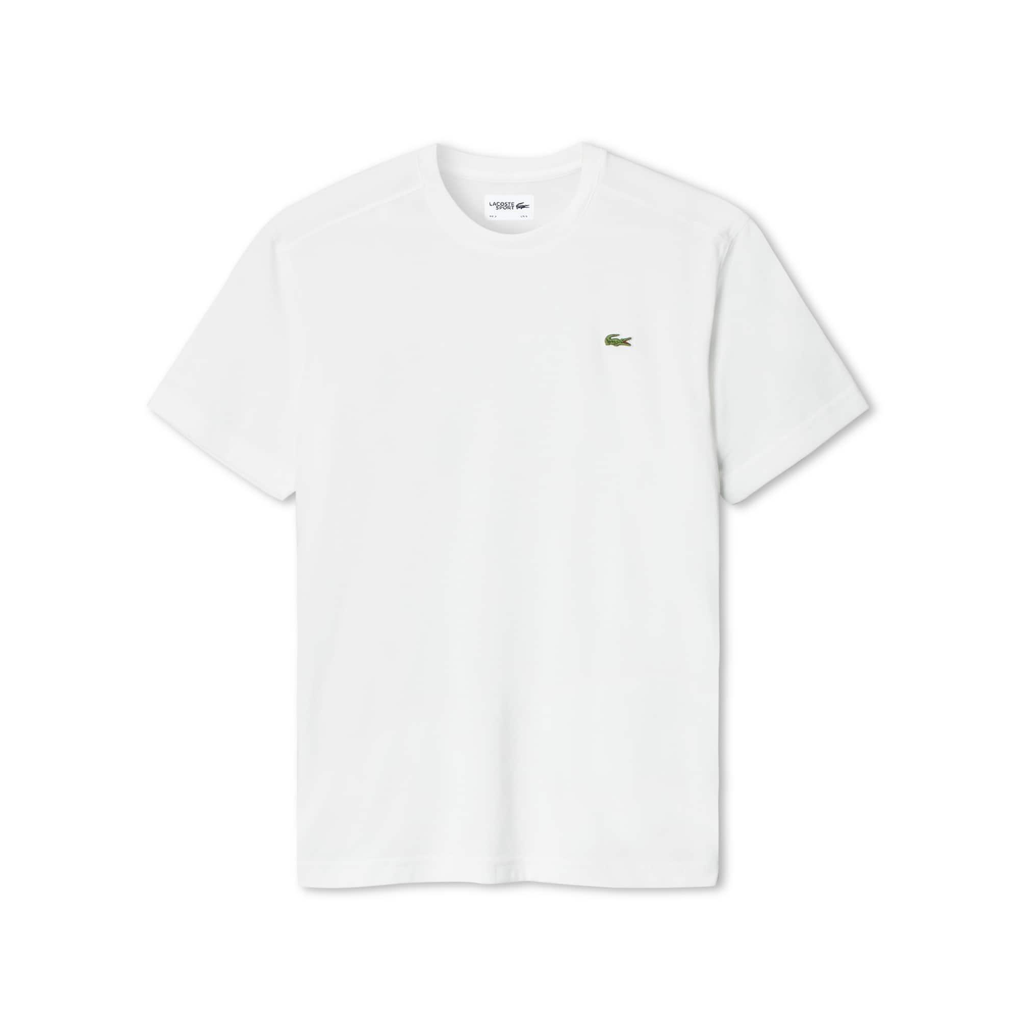Lacoste SPORT系列男士圆领科技棉网球T恤