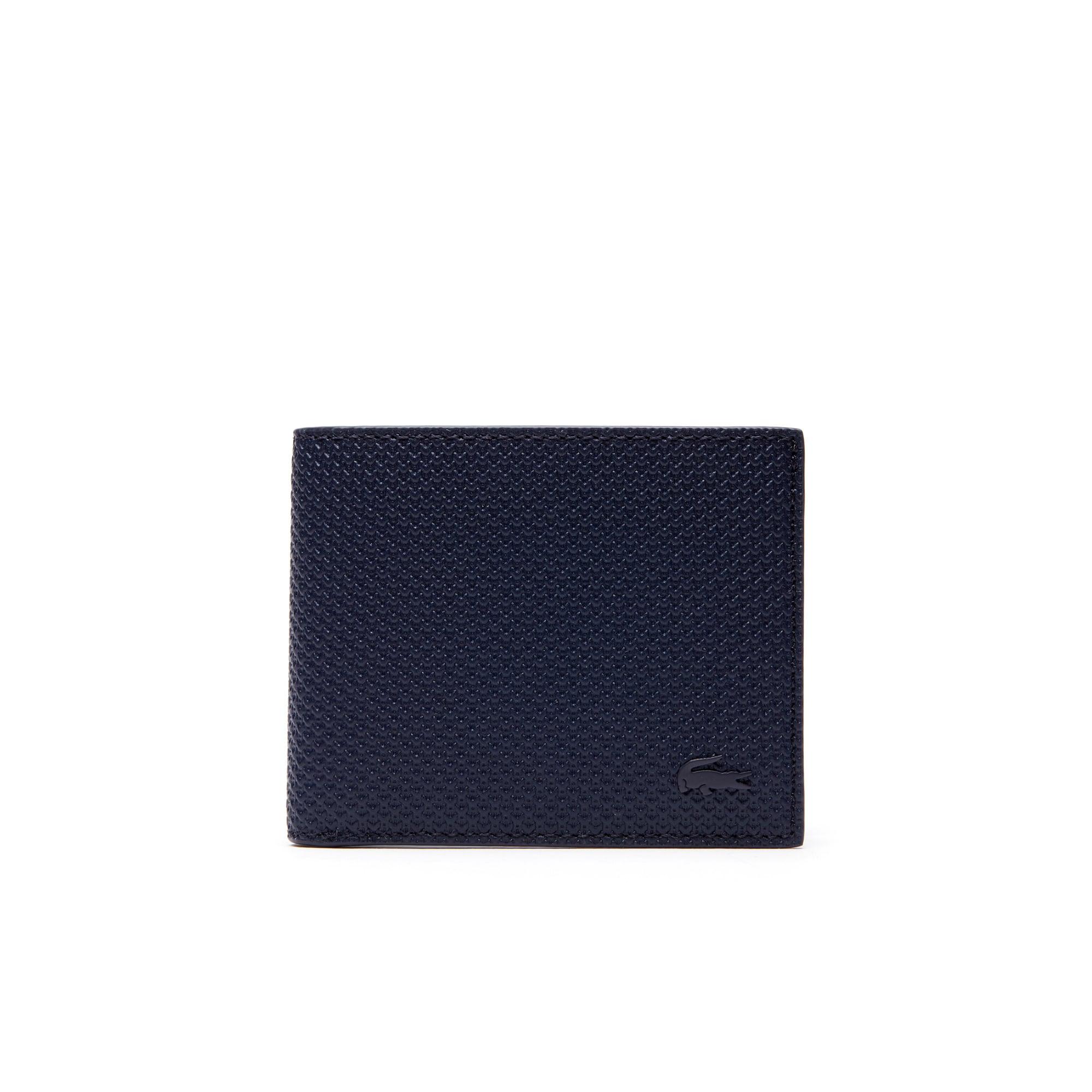 (남성) [샨타코] 모노크롬 레더 플랫 지갑
