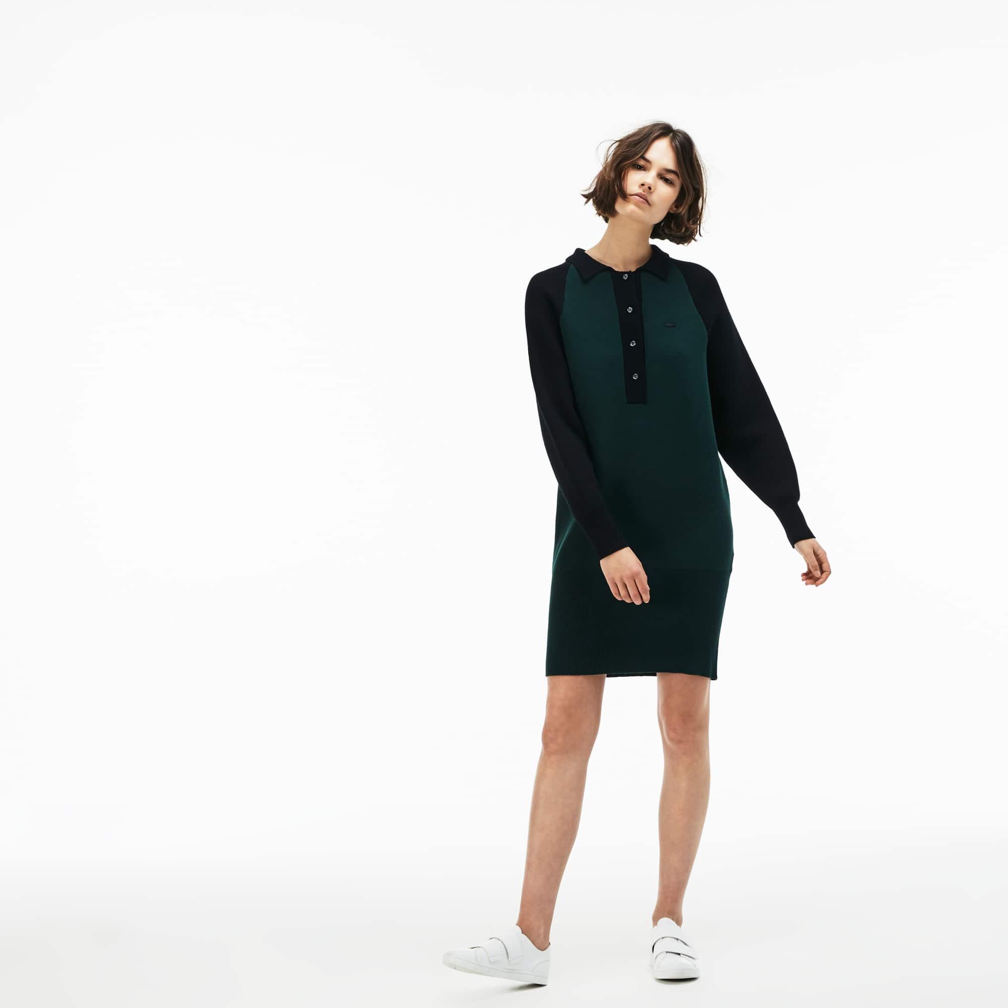 (여성) 라코스테 라이브 저지 스웨터 원피스