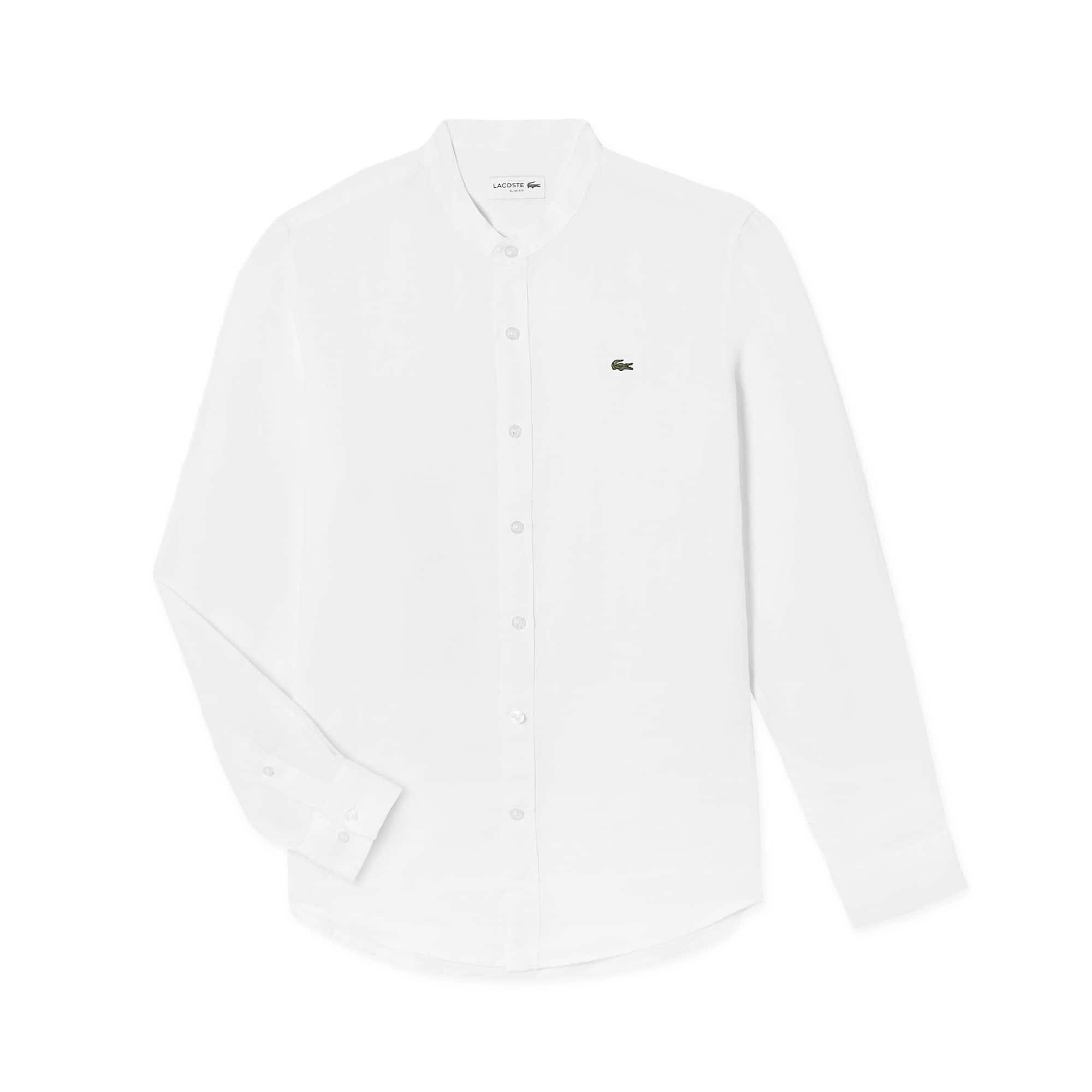 (남성) 린넨 차이나칼라 셔츠