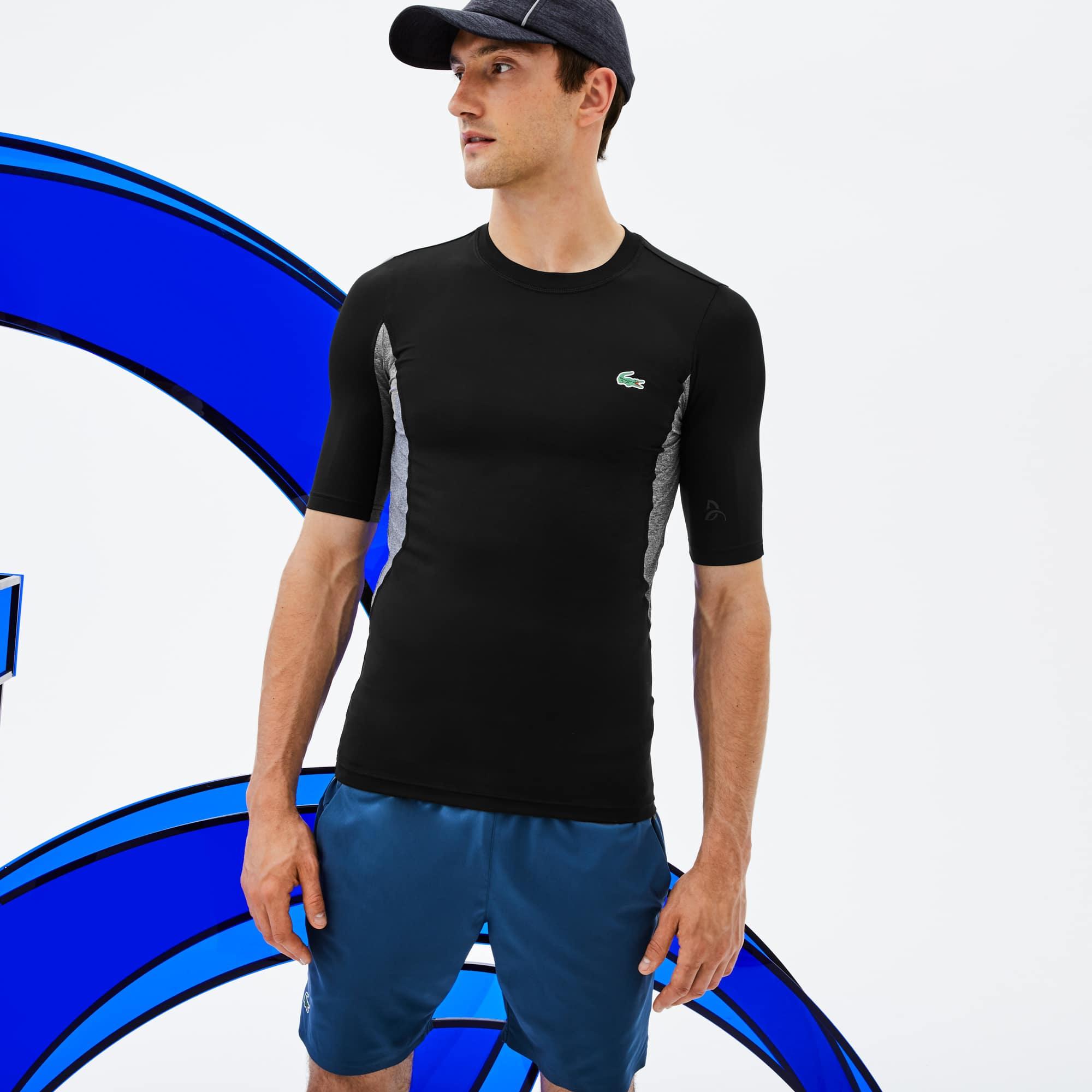 (남성) [Novak Djokovic Edition] 라코스테 스포츠 크루넥 스트레치 기능성 저지 티셔츠