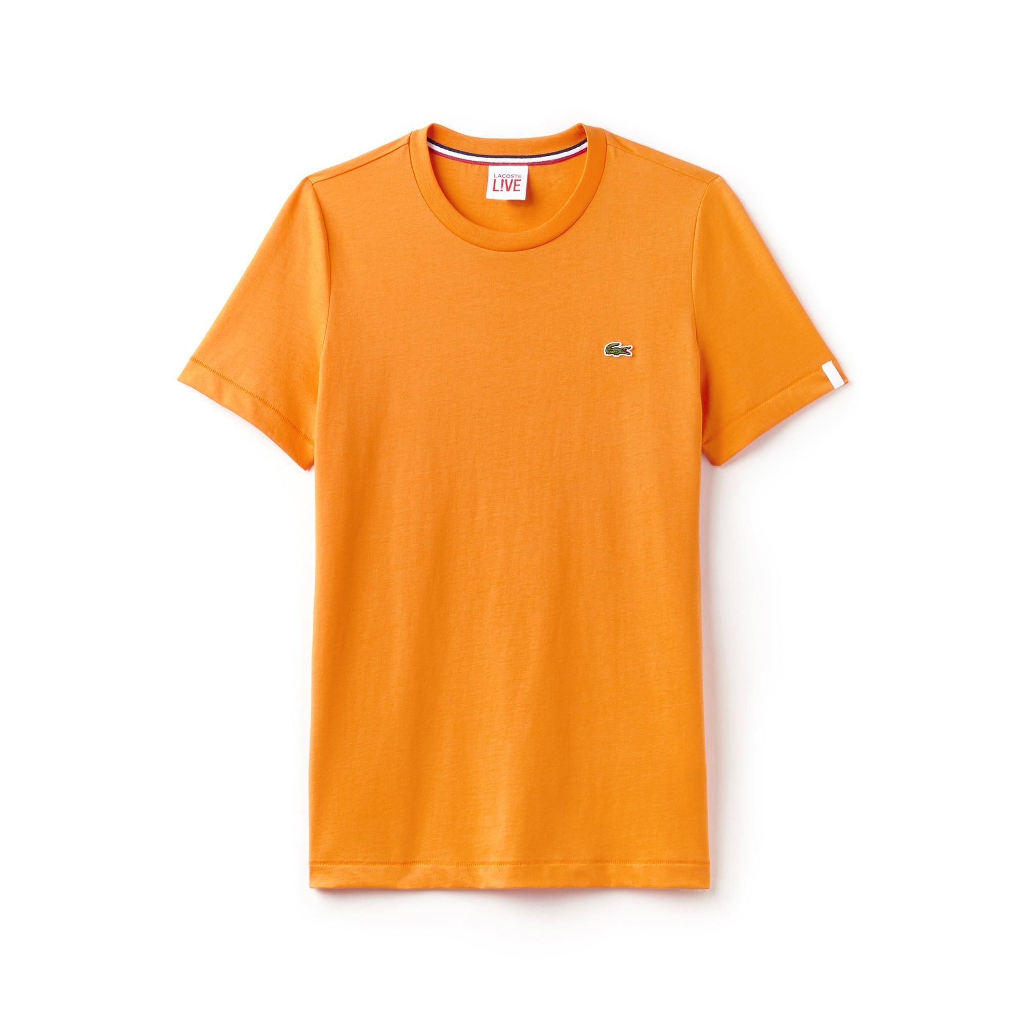 (남녀공용) 라이브 U넥 반팔 티셔츠
