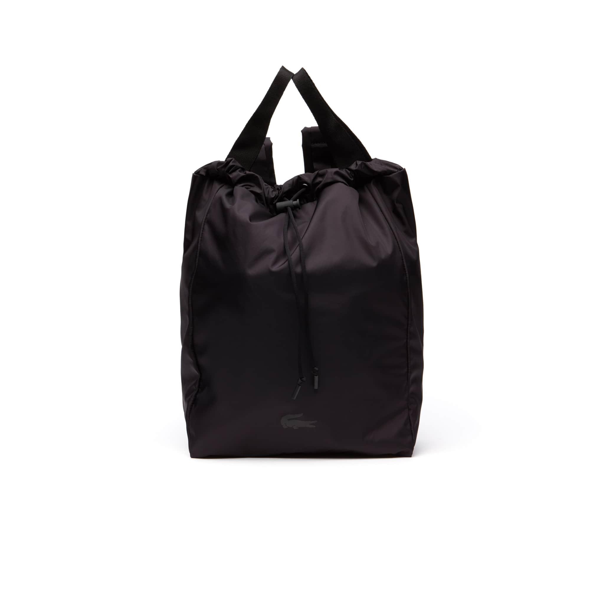 男士Lacoste系列可折叠科技尼龙运动背包