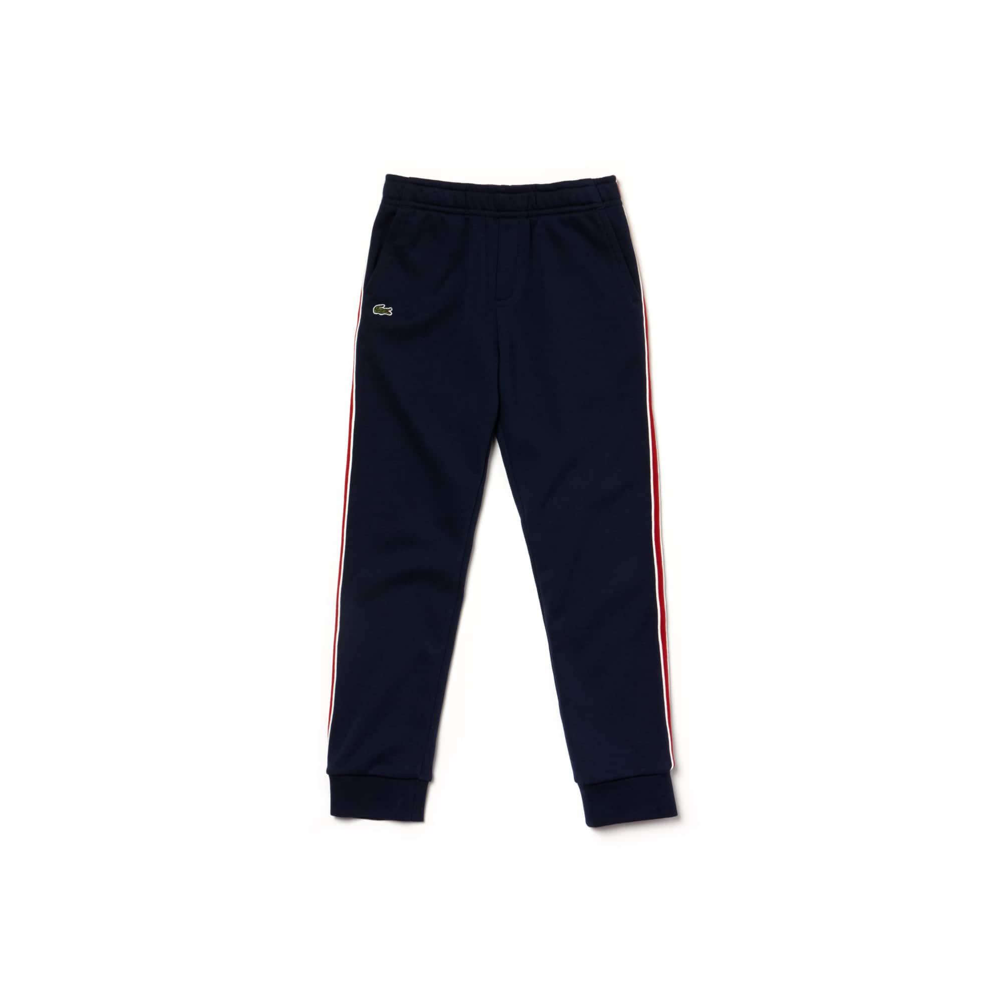 男童侧带棉质运动裤