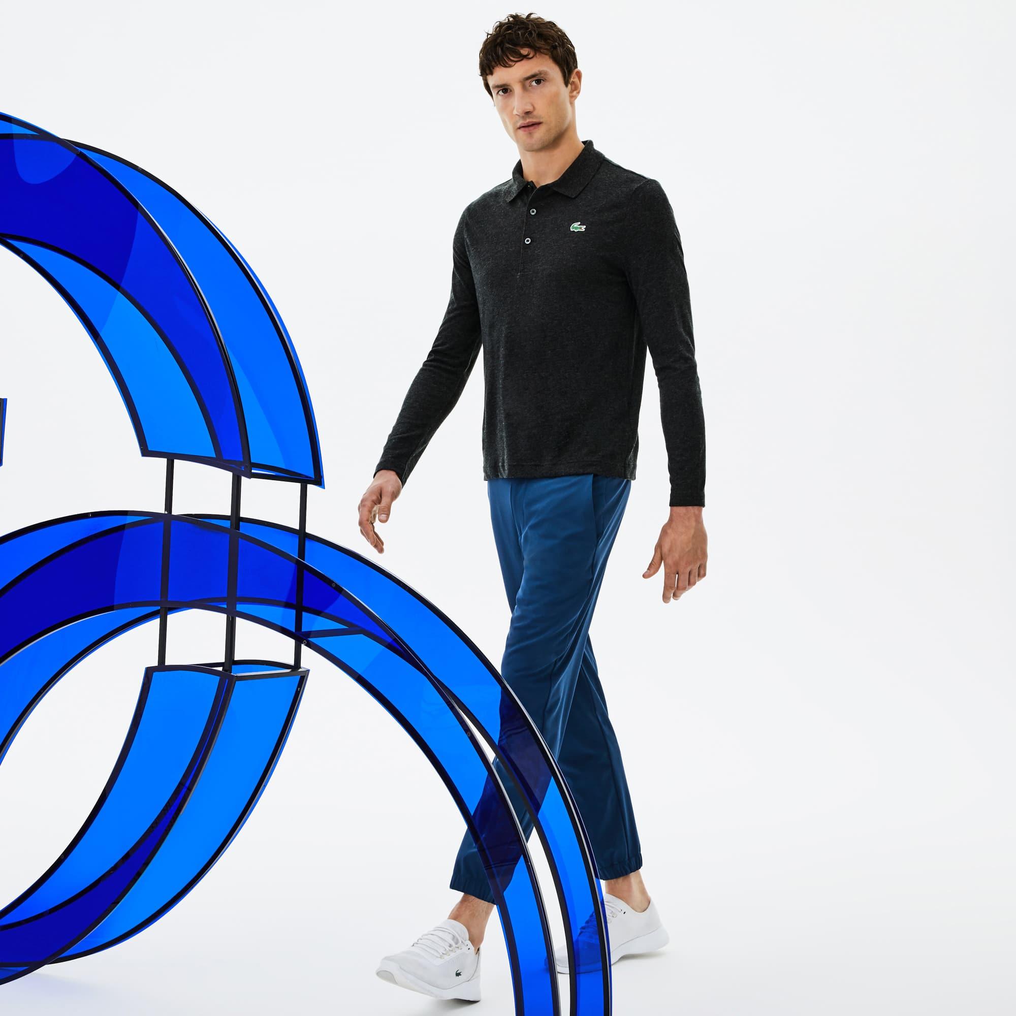 (남성) [Novak Djokovic Edition] 라코스테 스포츠 기능성 울 저지 폴로