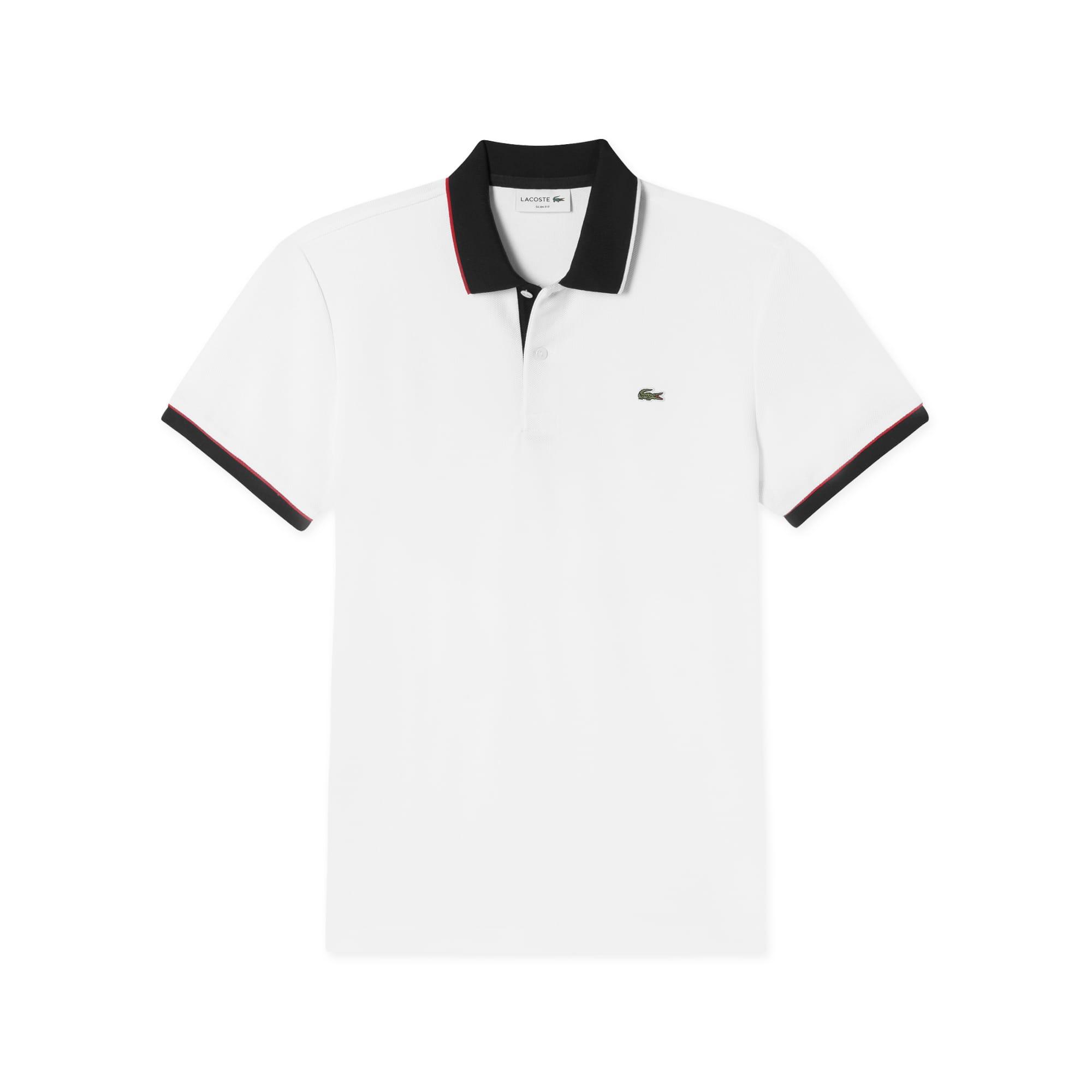 (남성) 85주년 한정판 허니콤 조직 배색 반팔 폴로 셔츠