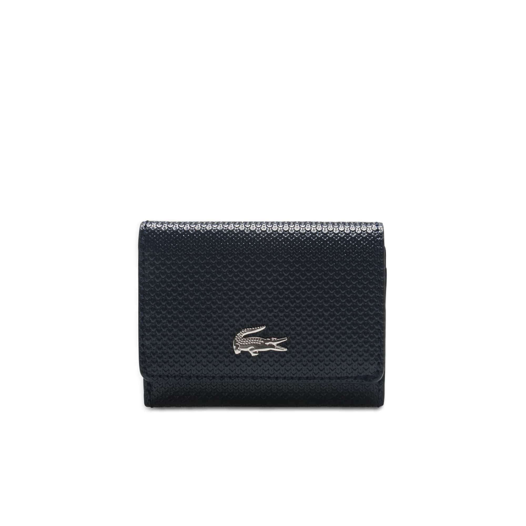 女士Chantaco圣诞节系列凸纹皮革钱包和钥匙链套装