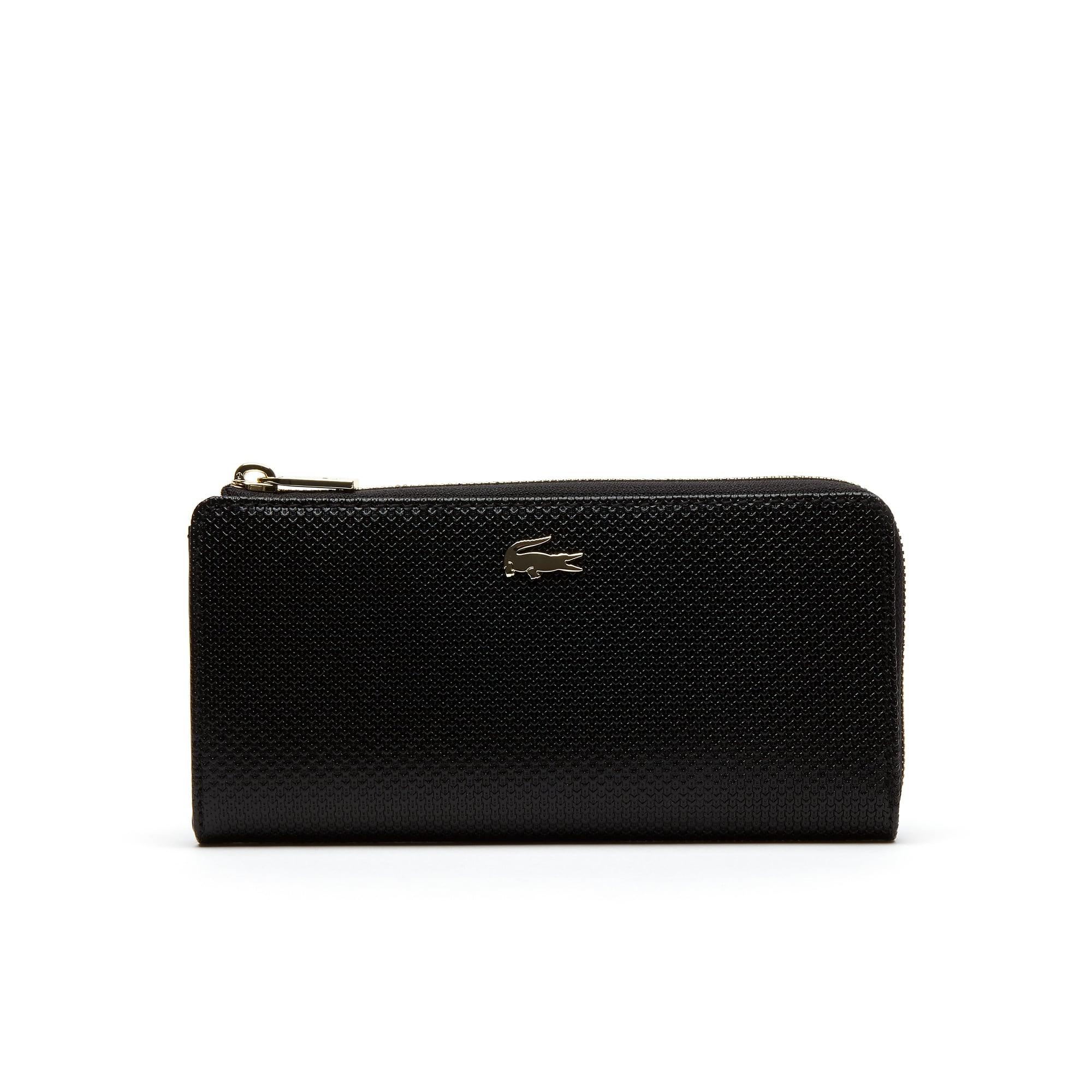 女士CHANTACO系列时尚纯色长款钱包