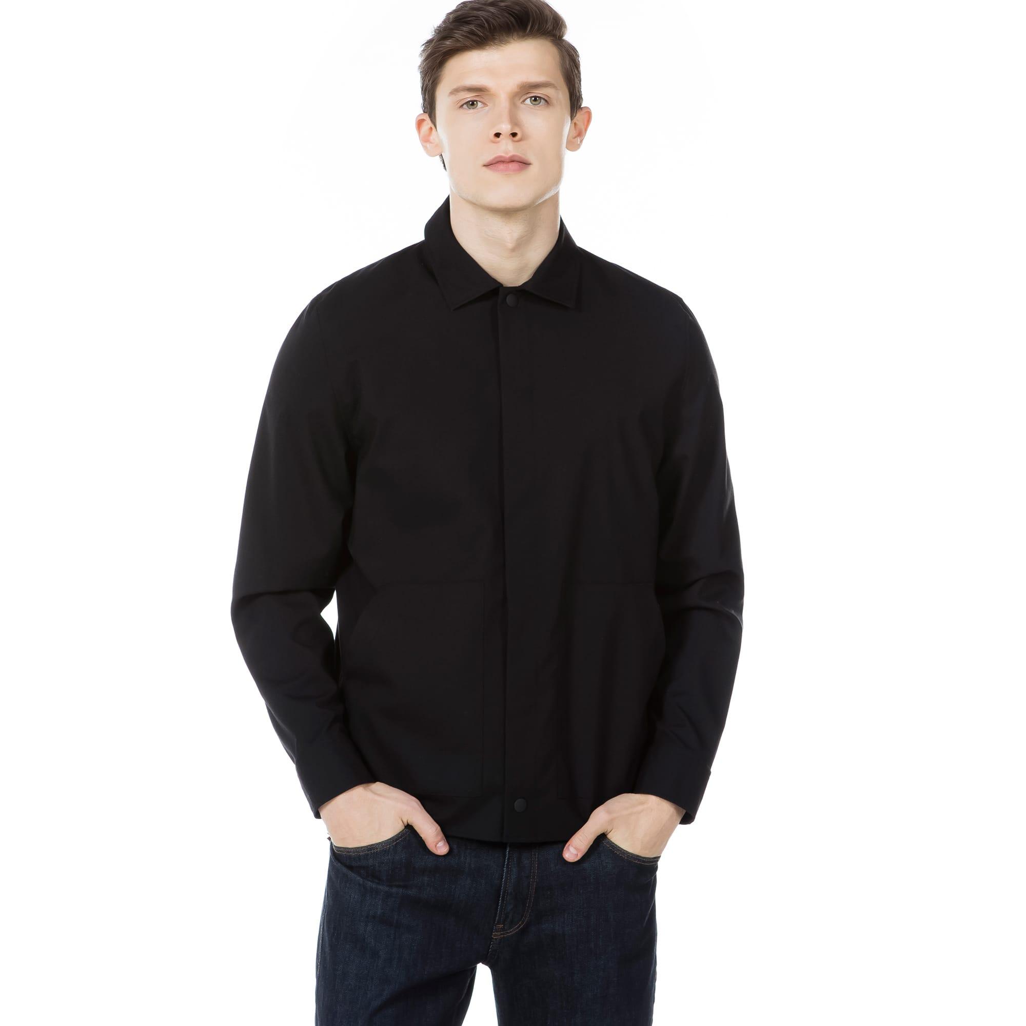 (남성) 크레페 오버 셔츠