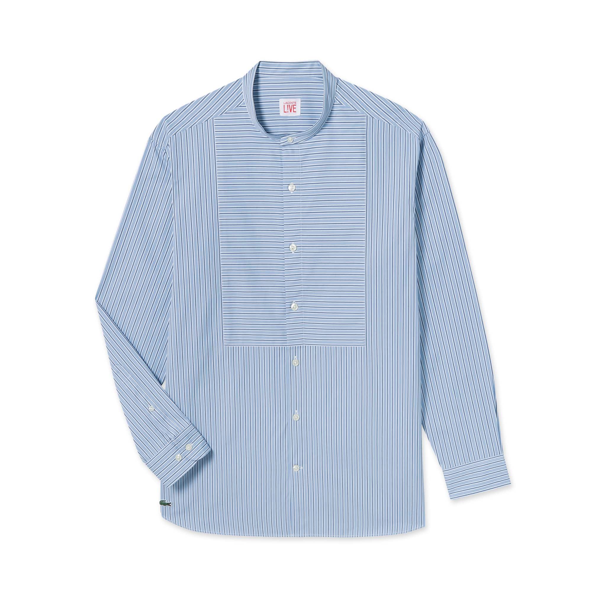 (남성) 포플린 스트라이프 셔츠