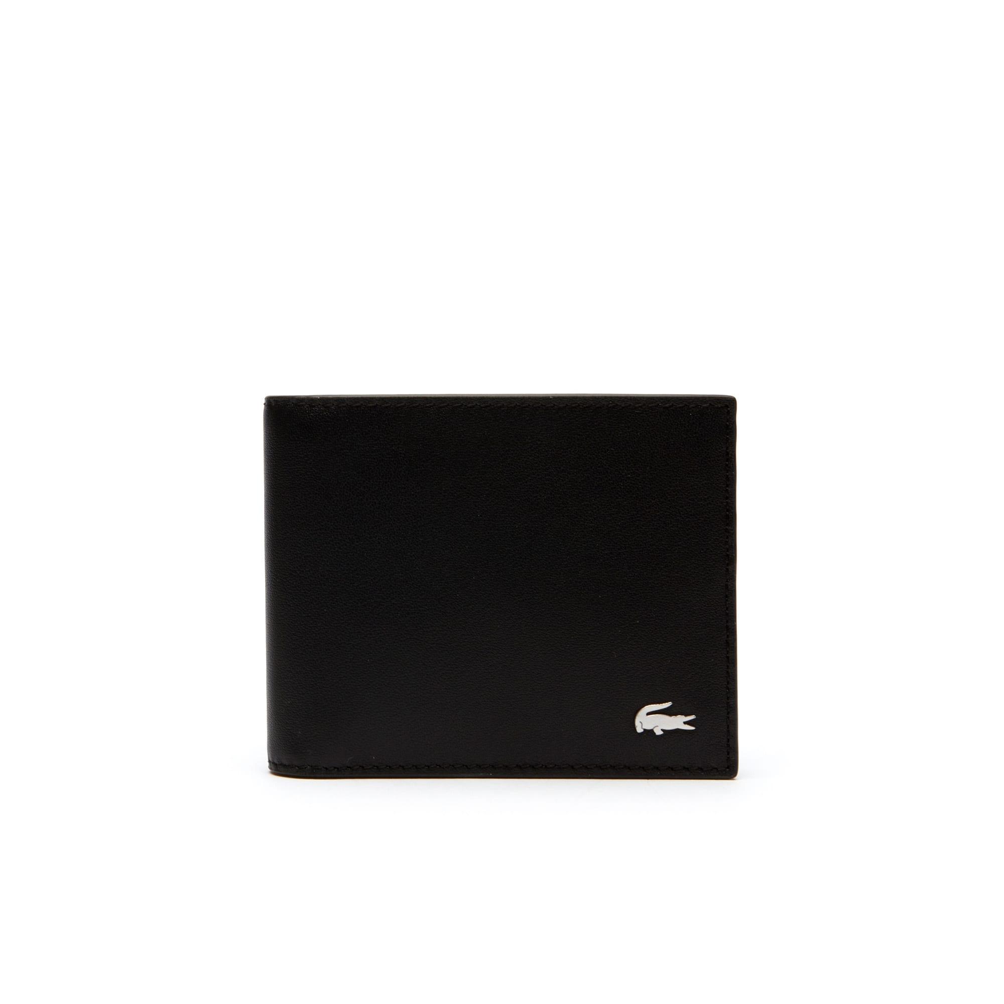 (남성) 피츠제럴드 6 슬롯 배색 레더 카드 지갑
