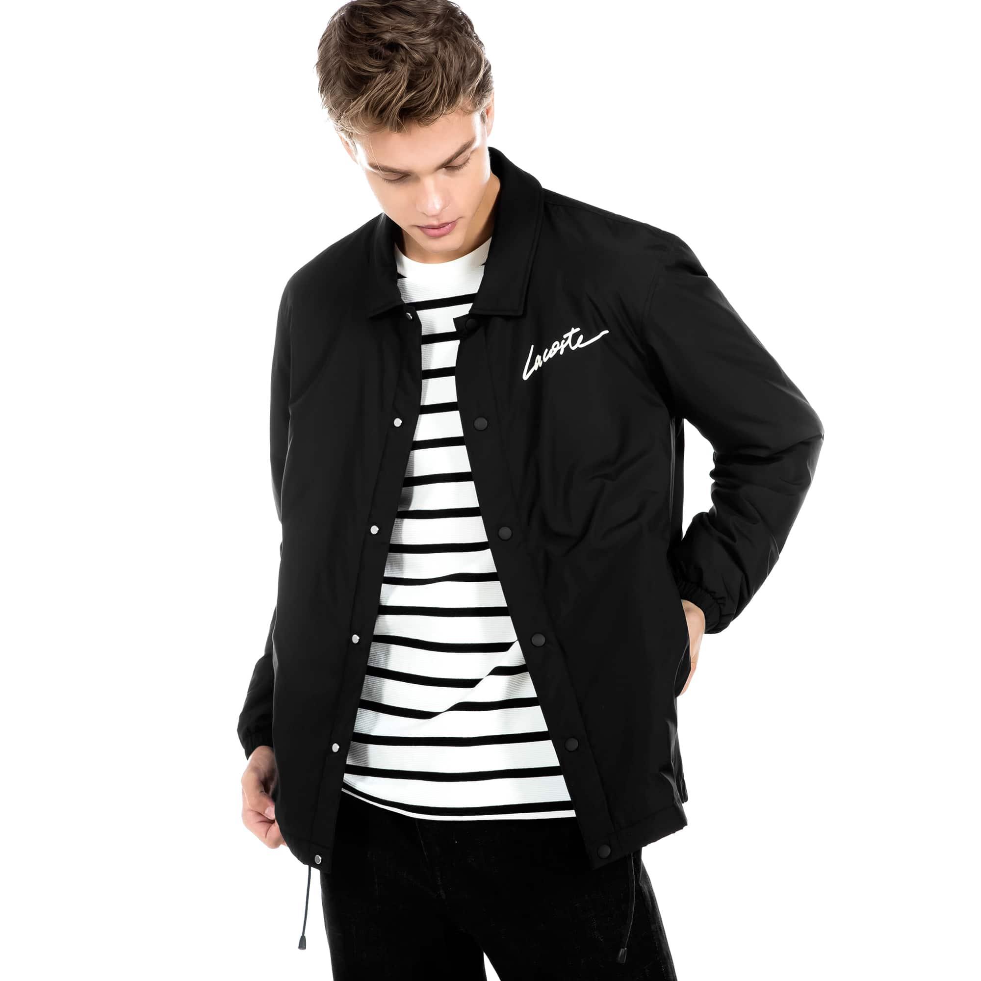 (남성) 라코스테 라이브 라코스테 시그니처 태피터 자켓