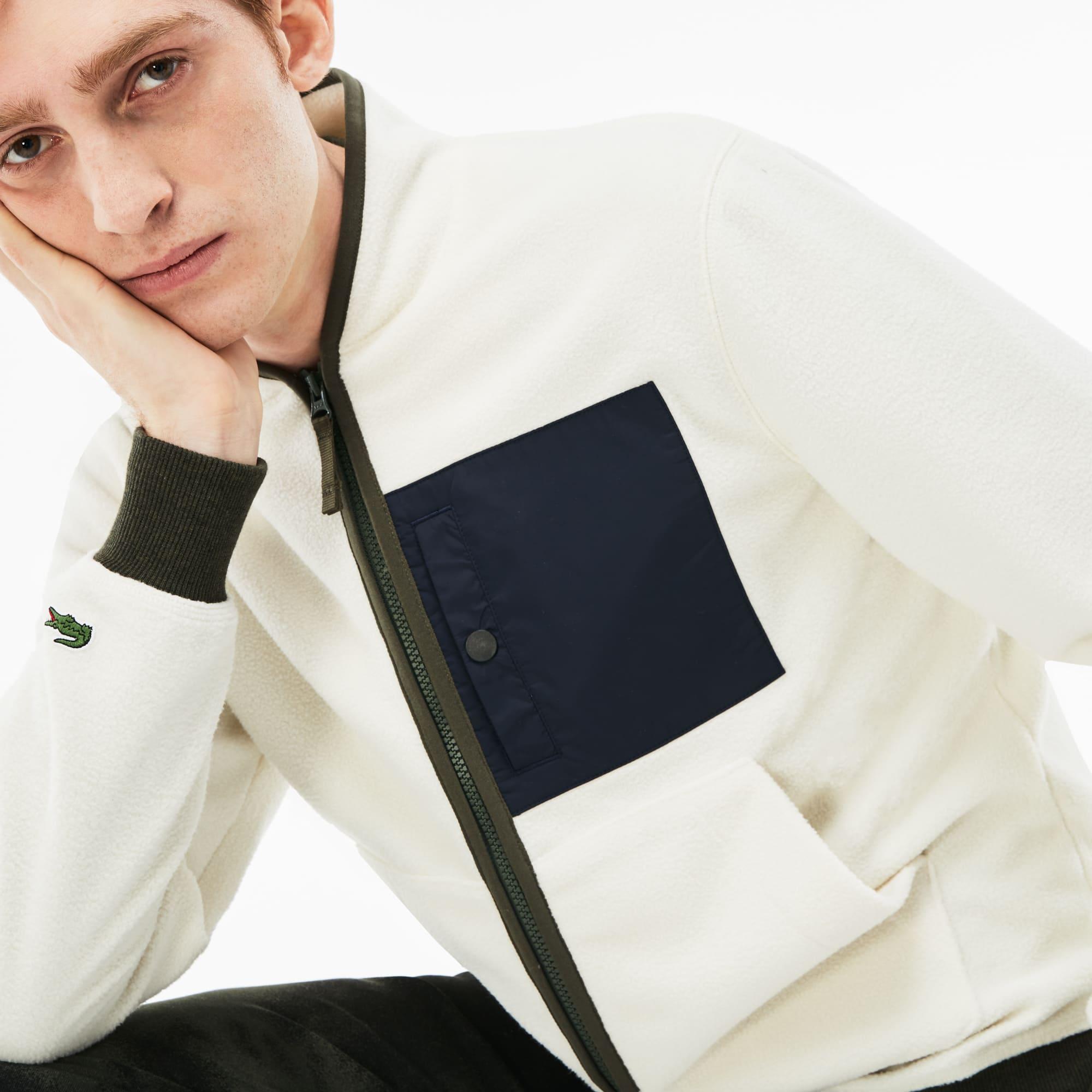 Lacoste L!VE系列男士拉链运动衫