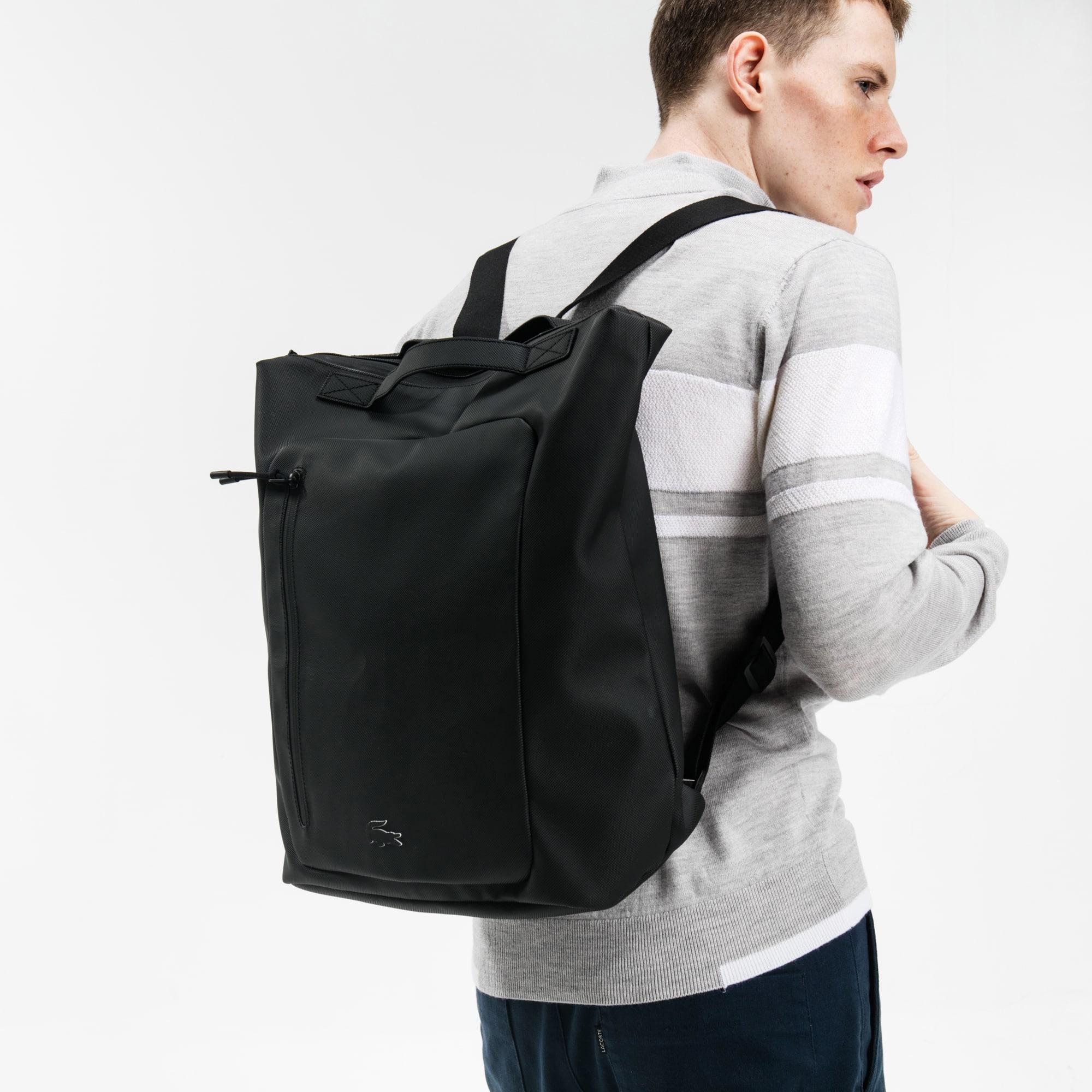 男士L.12.12系列时尚简约双肩背包