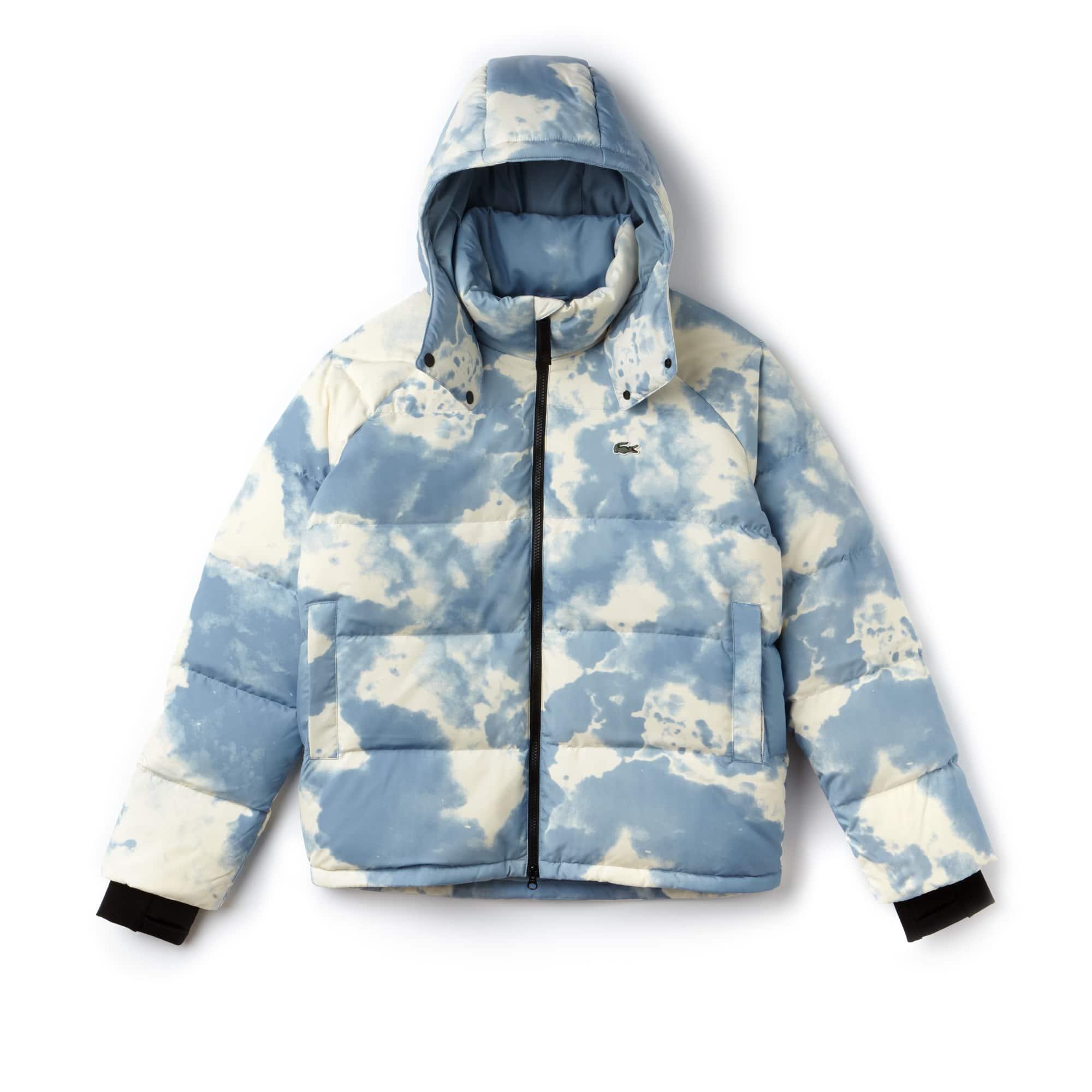(여성) 라코스테 라이브 방수 태피터 퀼팅 숏 자켓