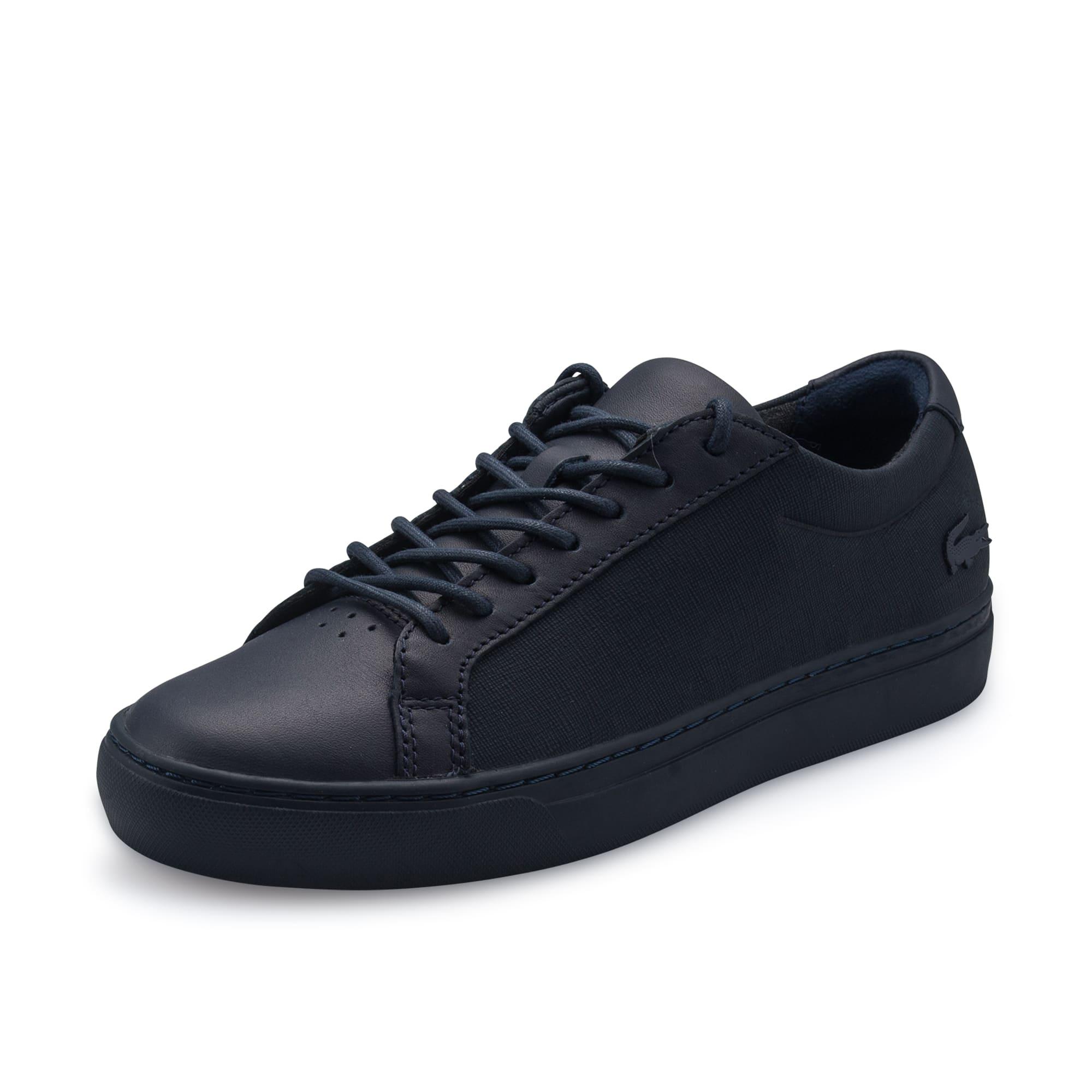男士L.12.12系列优良皮革运动鞋