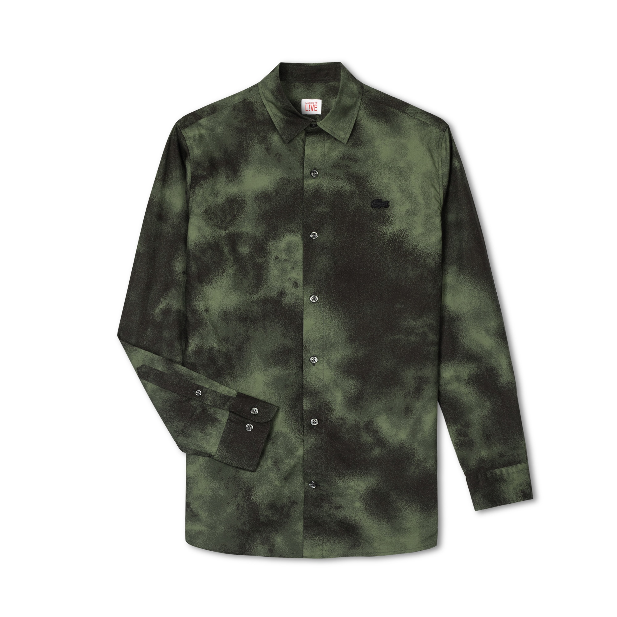 Lacoste L!VE系列男士时尚简约长袖衬衫