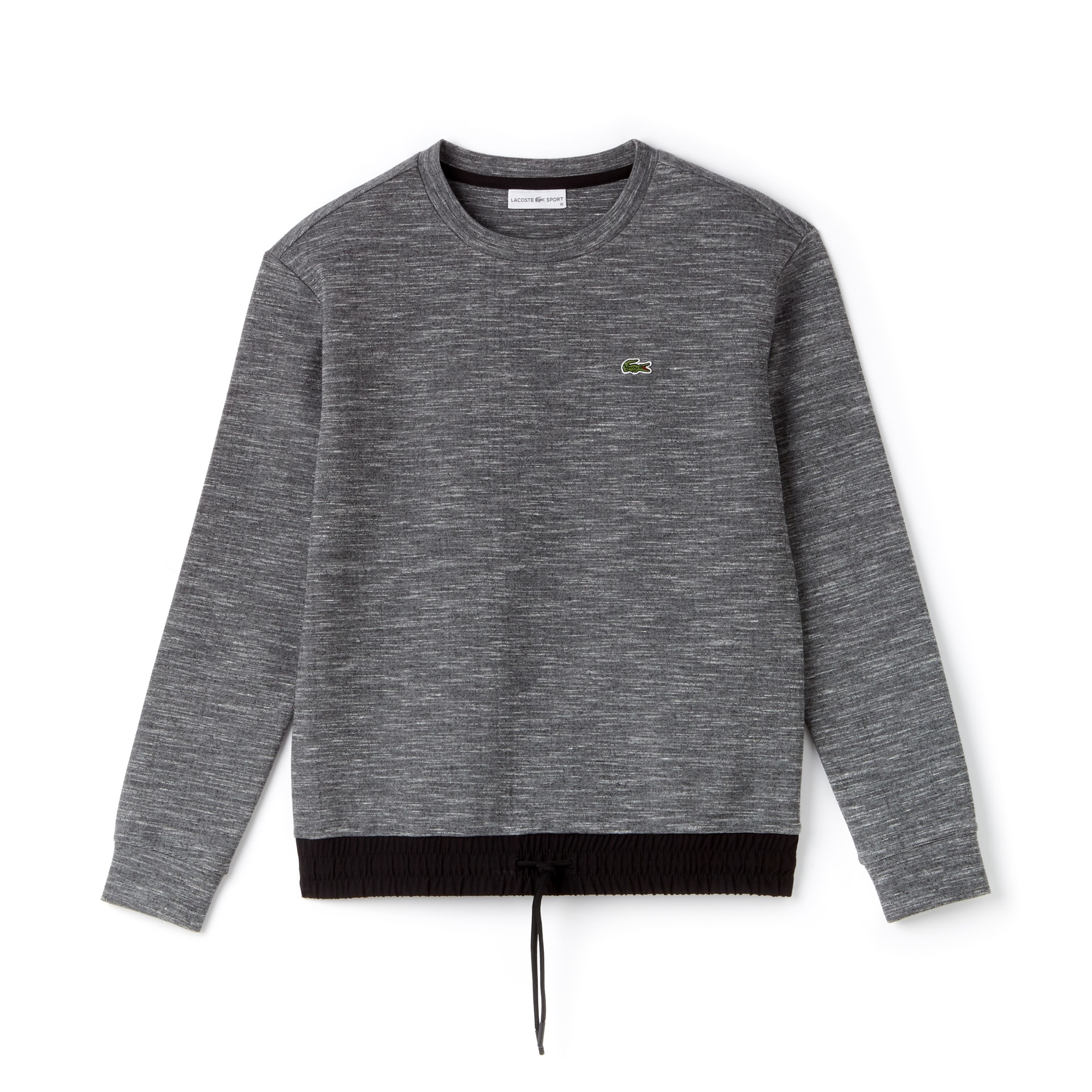 Lacoste SPORT女士科技羊毛和塔夫绸网球运动衫