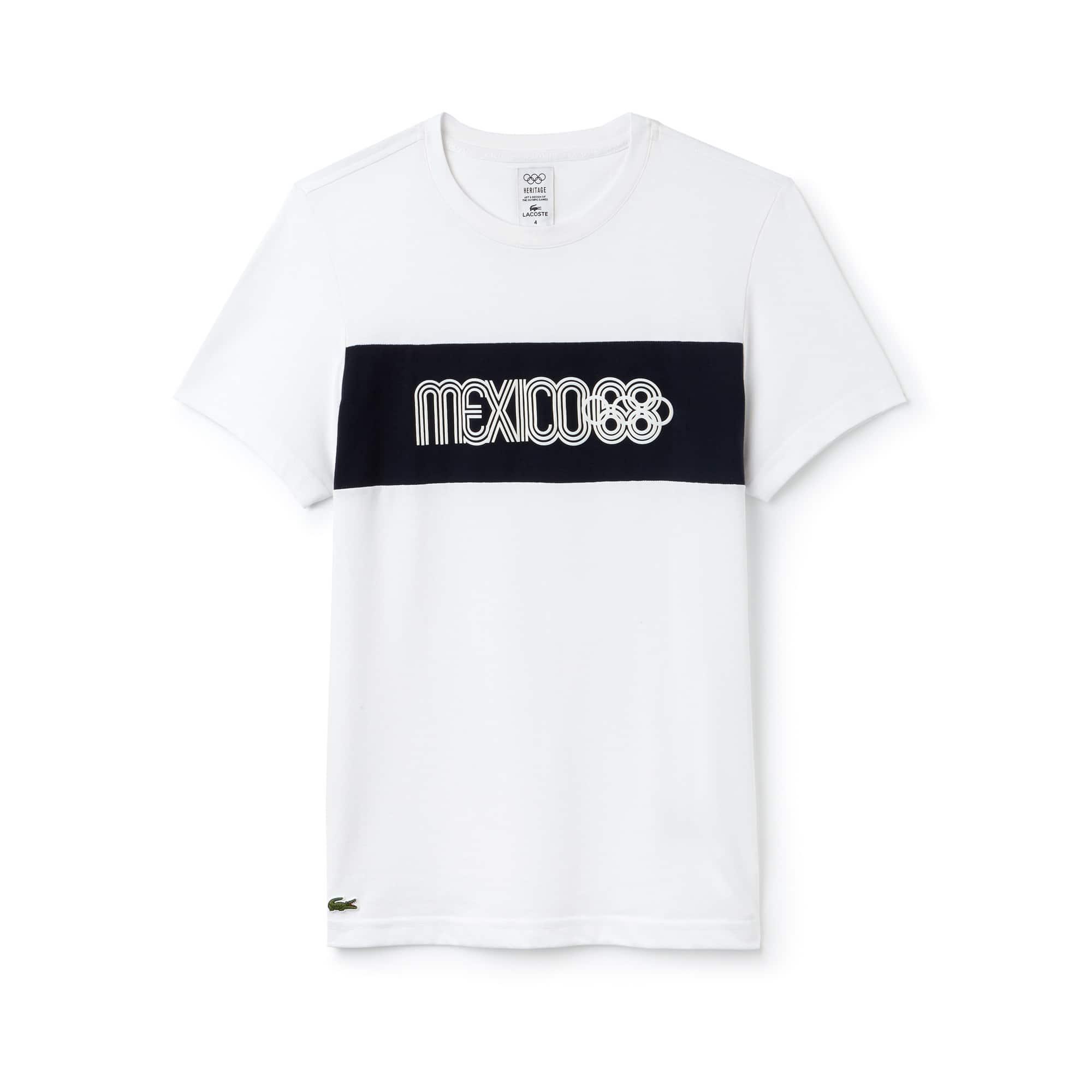 Lacoste SPORT男士奥林匹克传统系列科技棉T恤