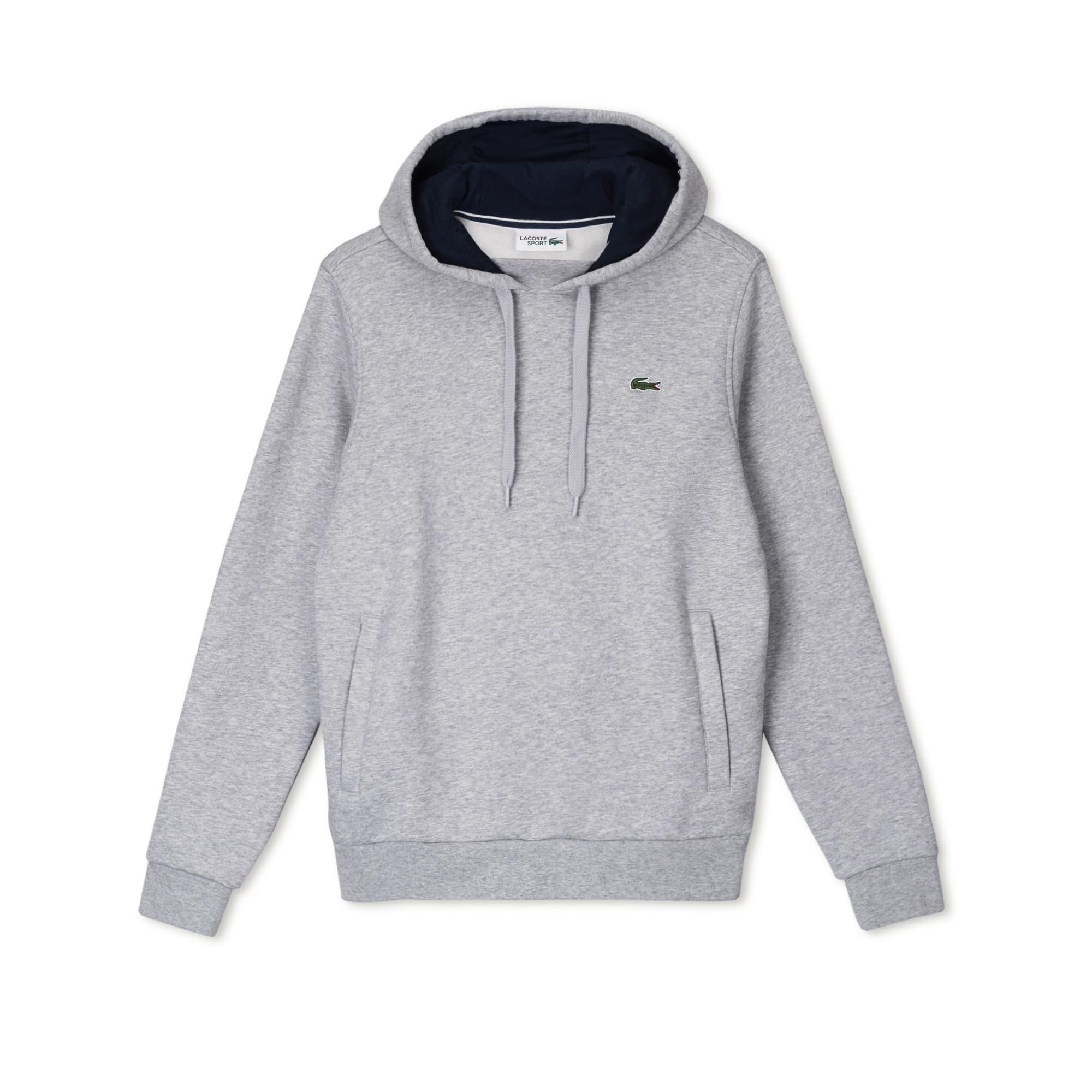 Lacoste Sport系列男士连帽拉绒网球运动衫