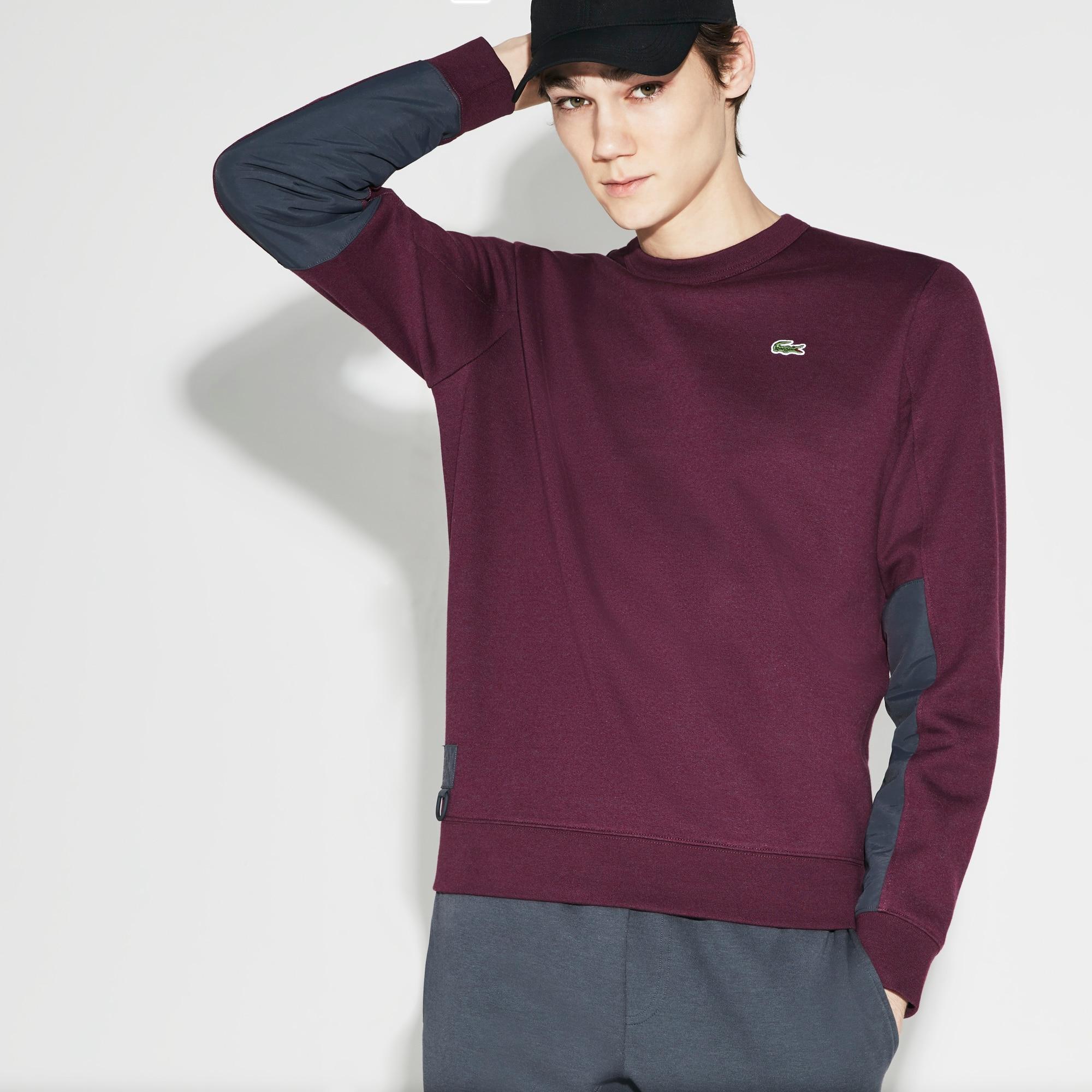 Lacoste SPORT系列男士防水拉绒网球运动衫