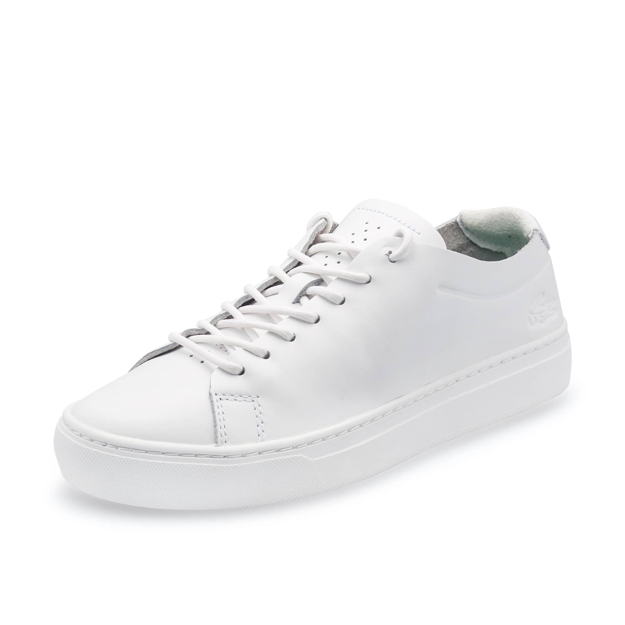 男士L.12.12系列无衬里苯胺革运动鞋