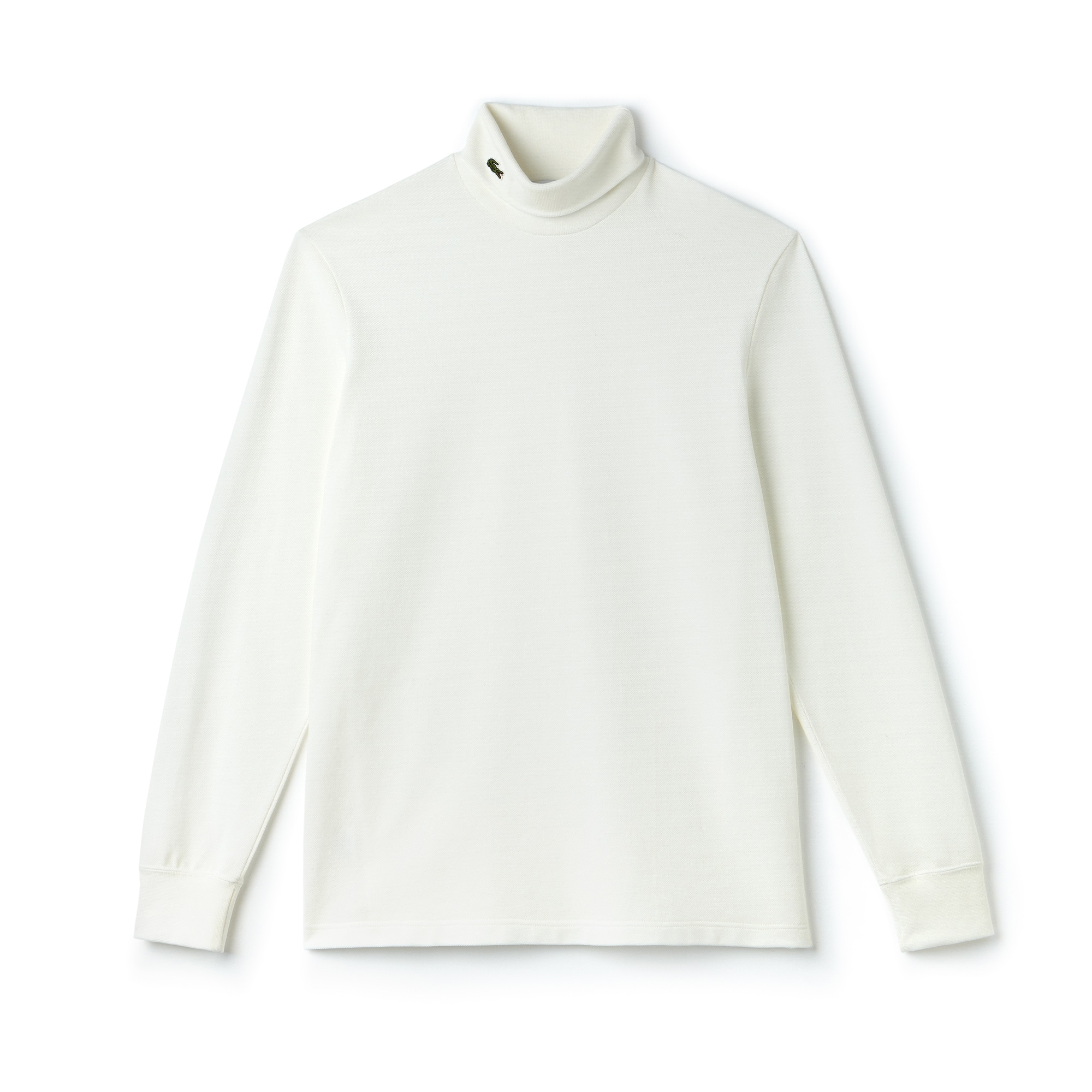 (남성) 터틀넥 코튼 피케 티셔츠