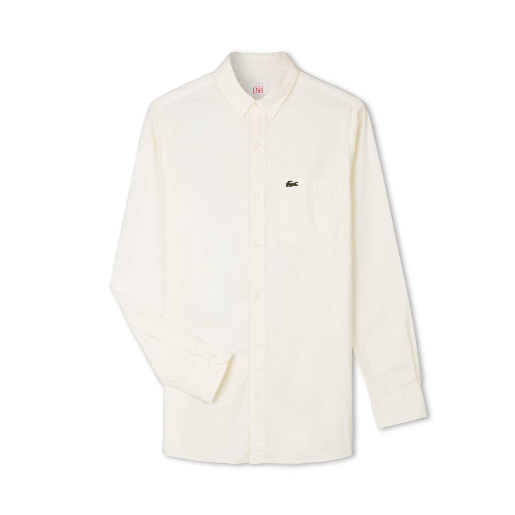 Lacoste L!VE系列男士长袖衬衫