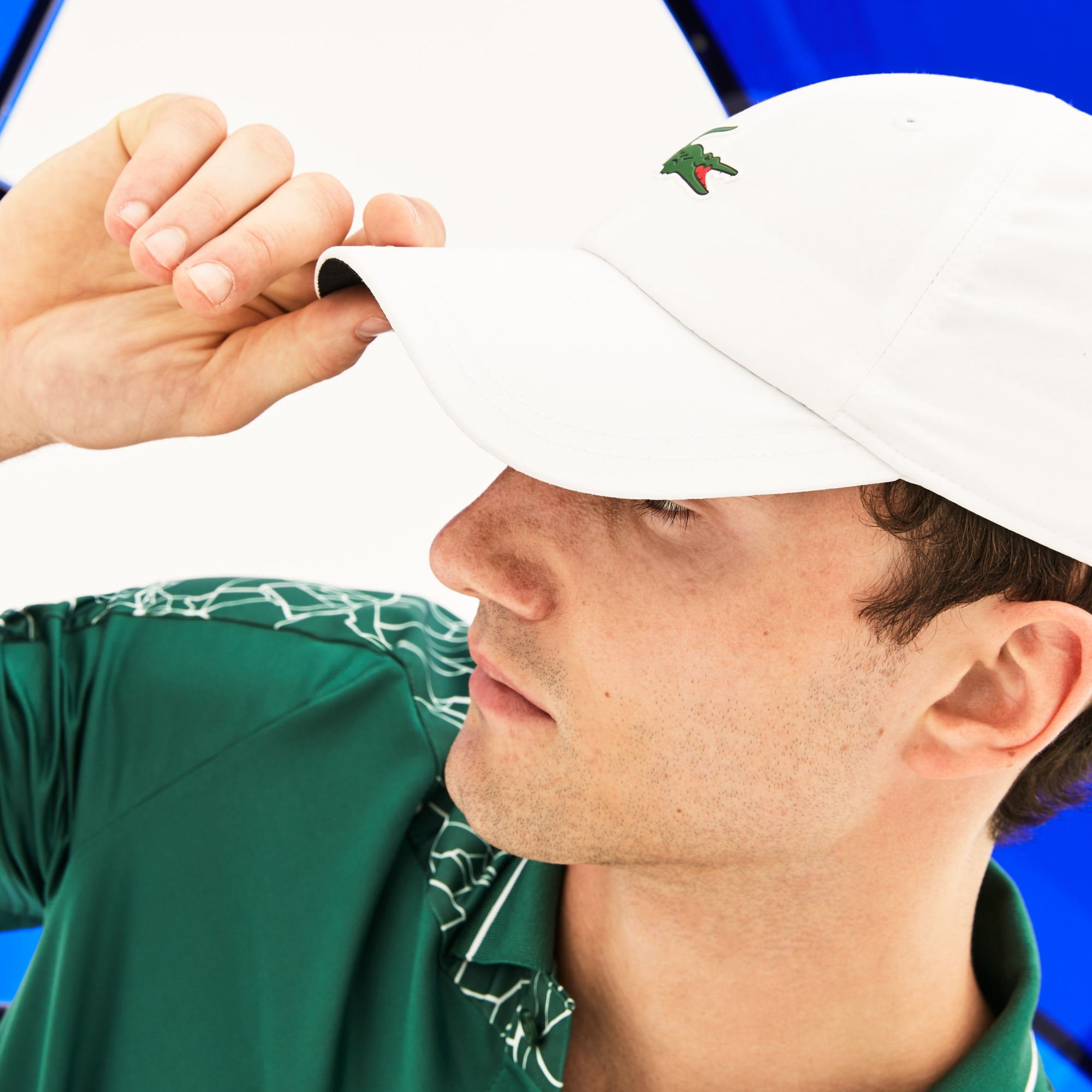 Lacoste SPORT系列诺瓦克·德约科维奇(NOVAK DJOKOVIC)合作款球场系列微纤维帽