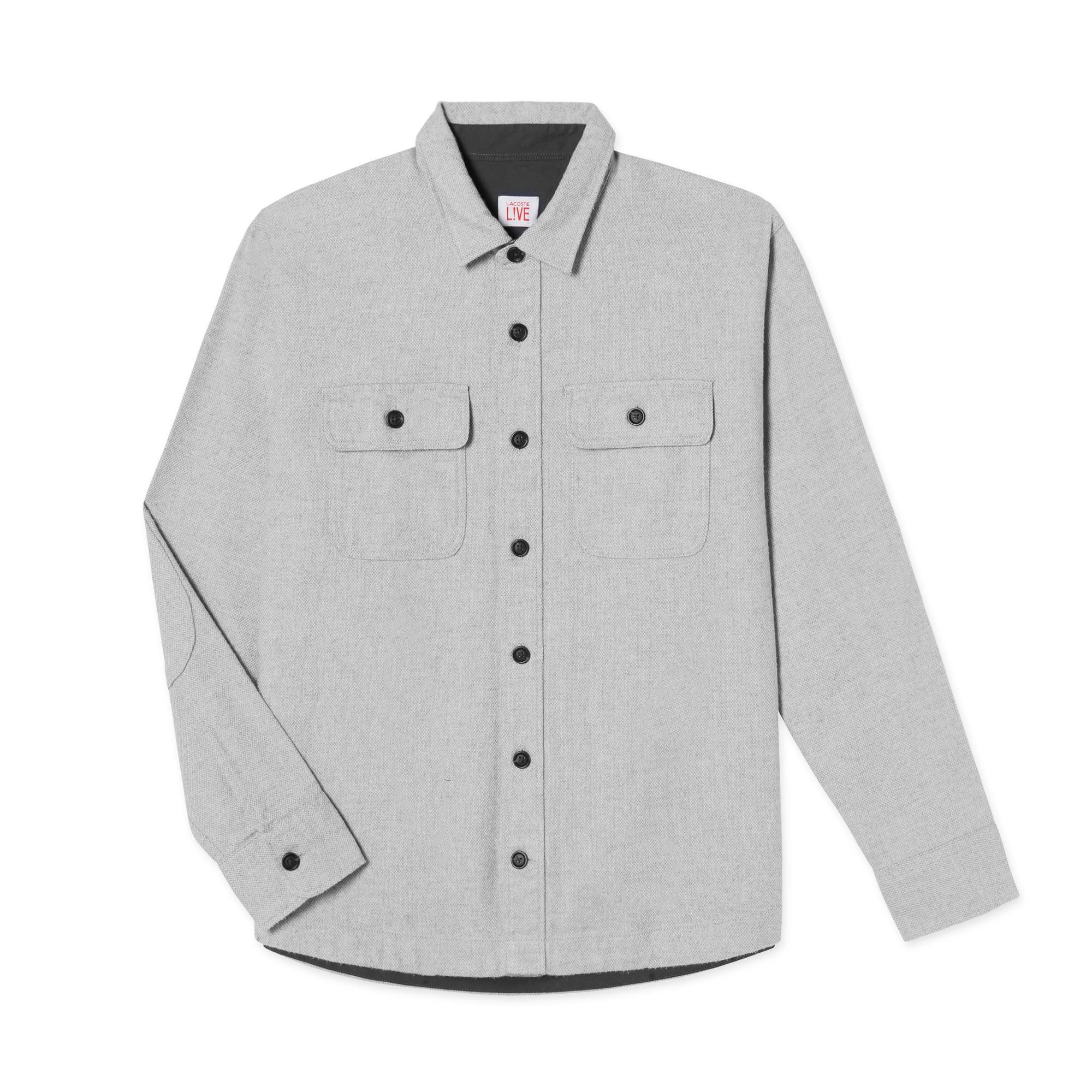 (남성) 라코스테 플란넬 오버 셔츠