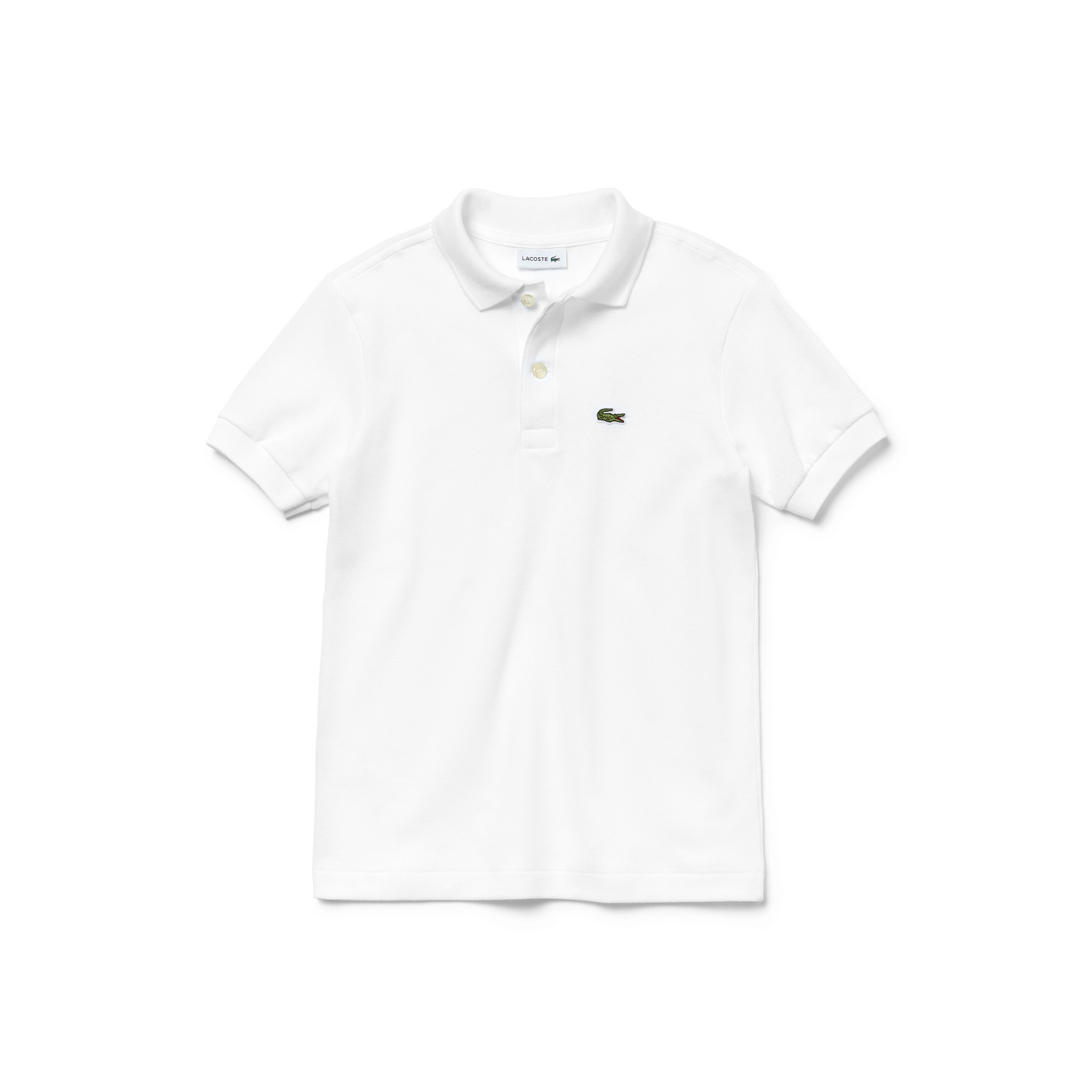 (키즈) 라코스테 쁘띠 피케 폴로 셔츠