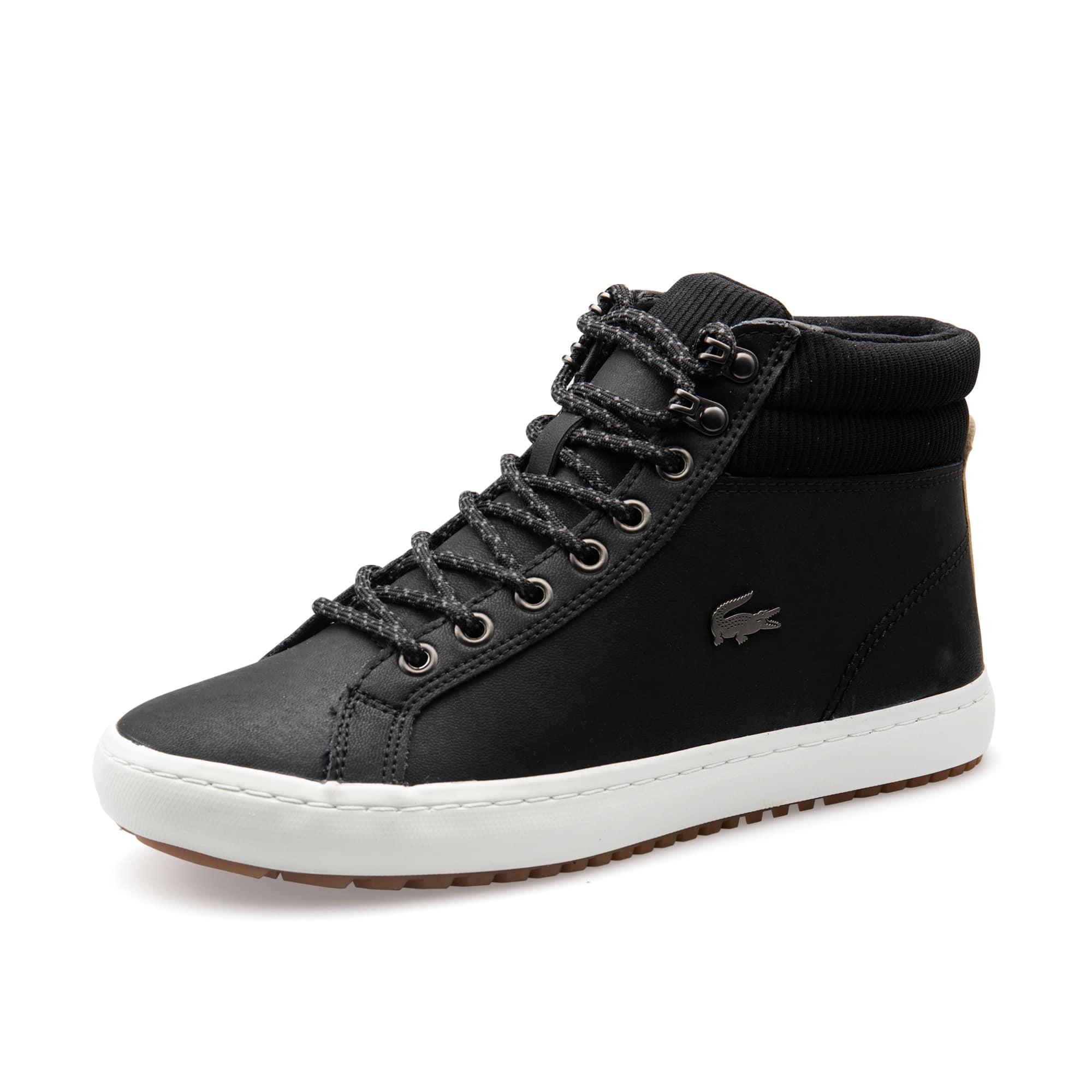 男士Straightset Insulac系列皮革和织物靴