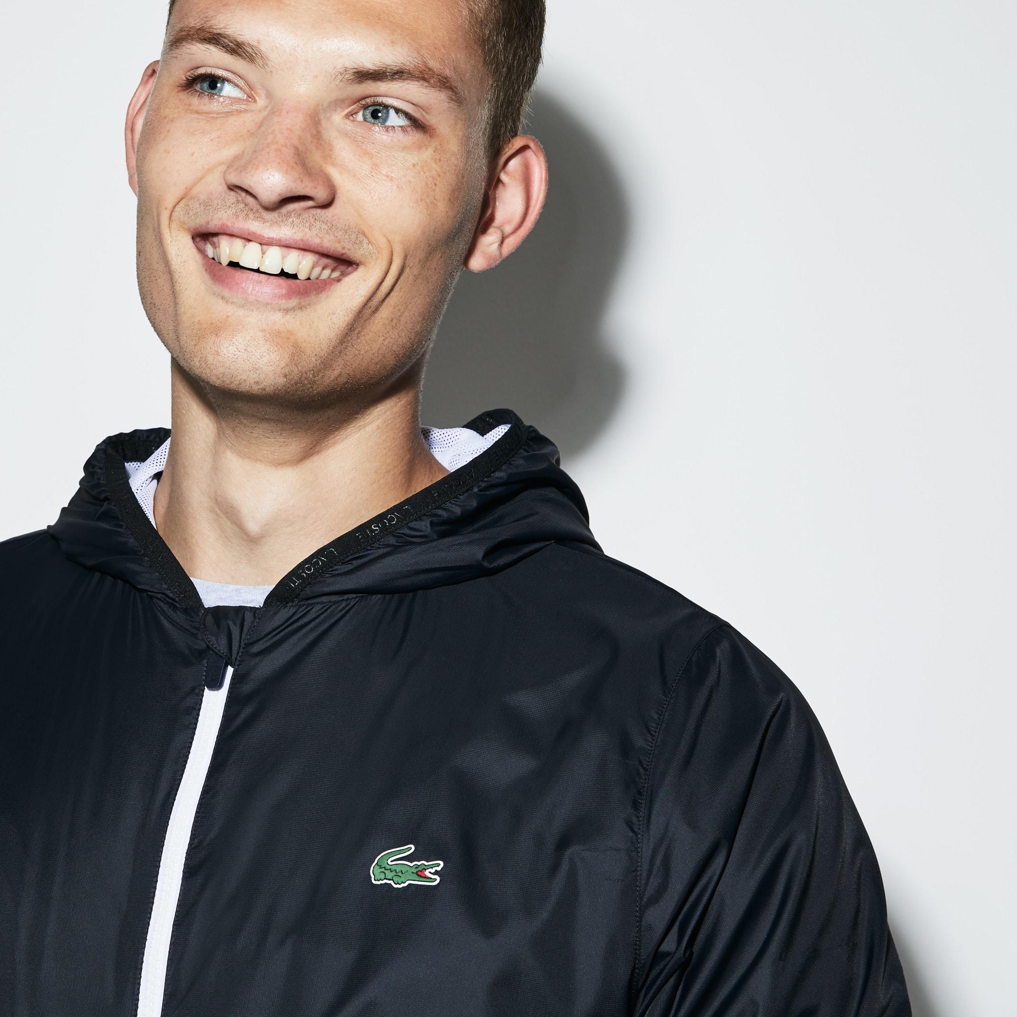 Lacoste SPORT系列男士连帽科技网球夹克
