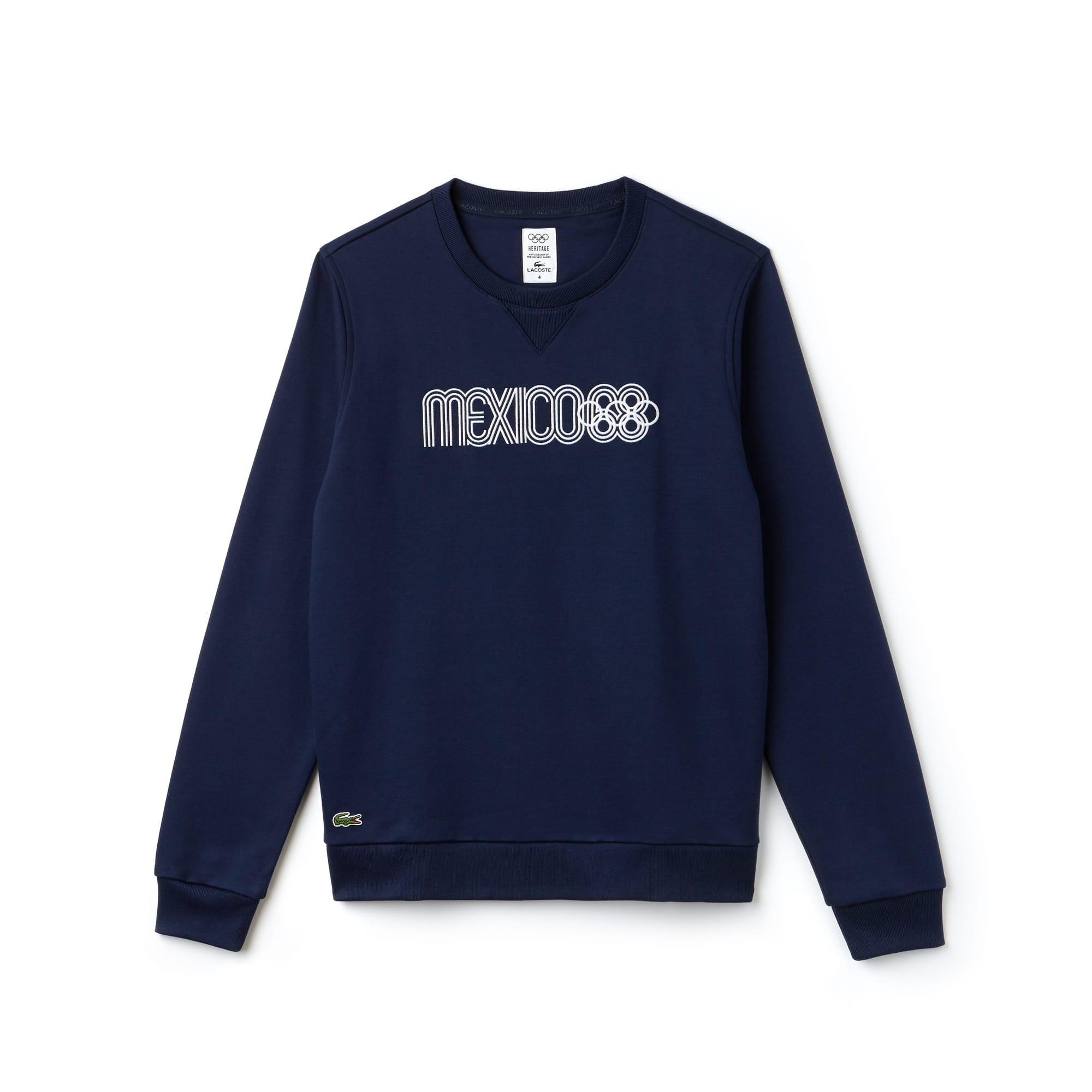 Lacoste SPORT系列奥运会纪念版男士刺绣拉绒运动衫